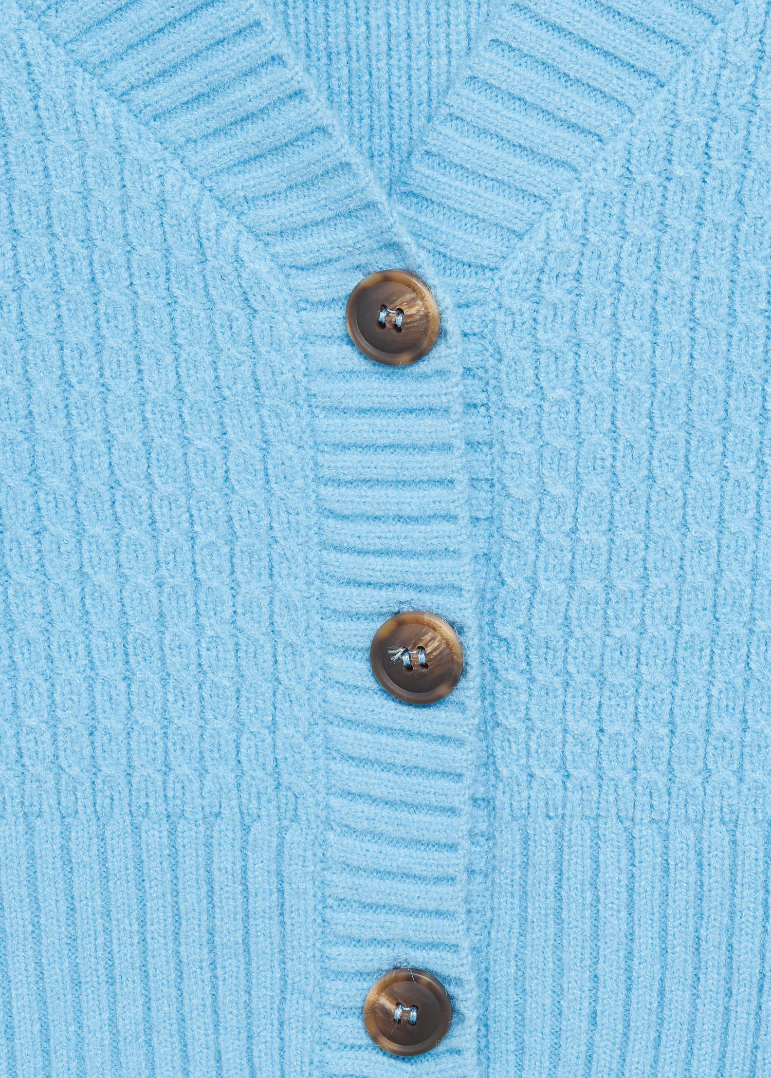 Cropped cardigan with buttons 6