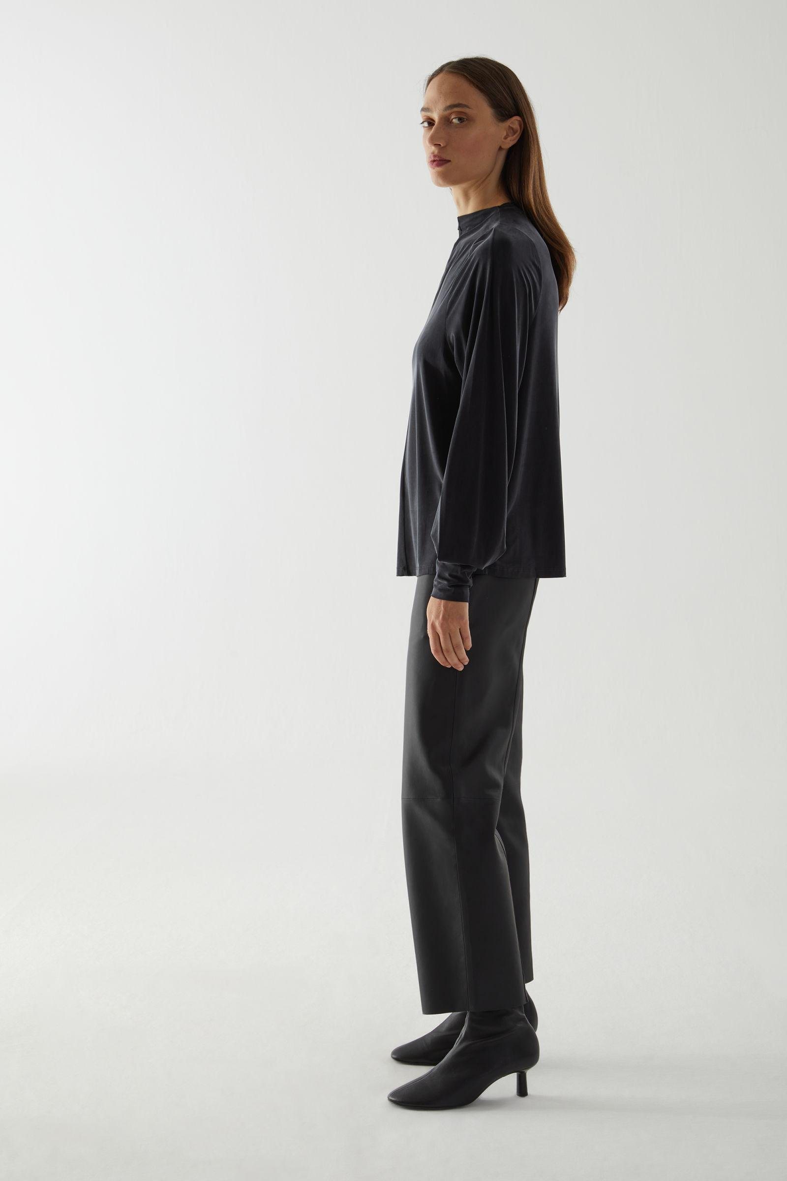 CUPRO LONG-SLEEVED TOP 3
