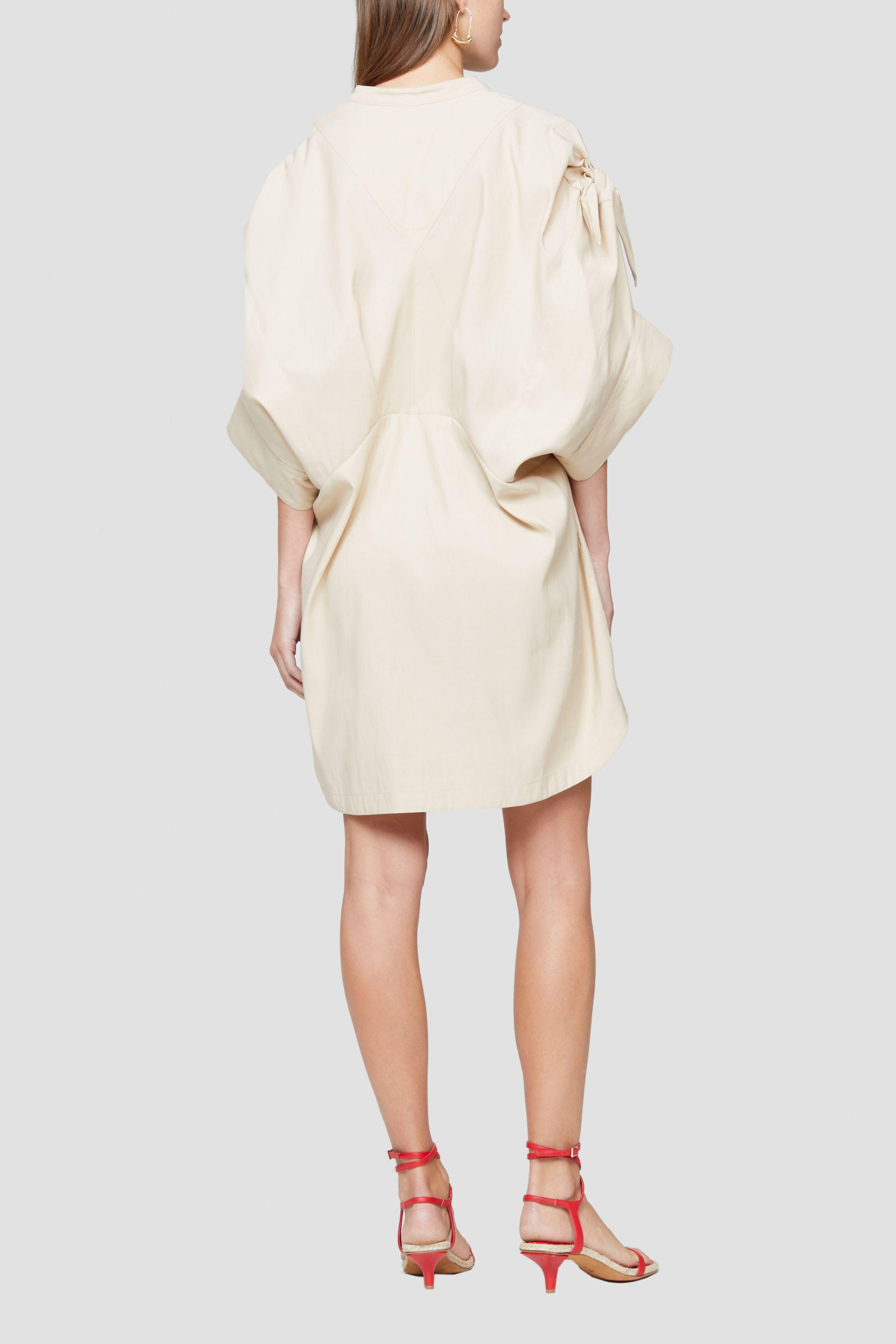 Knotted Sleeve Dress 3