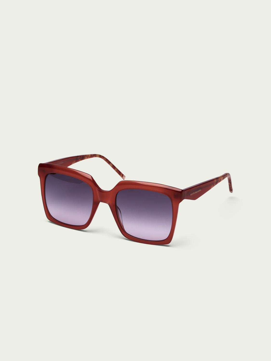 Holly ─ oversized square sunglasses