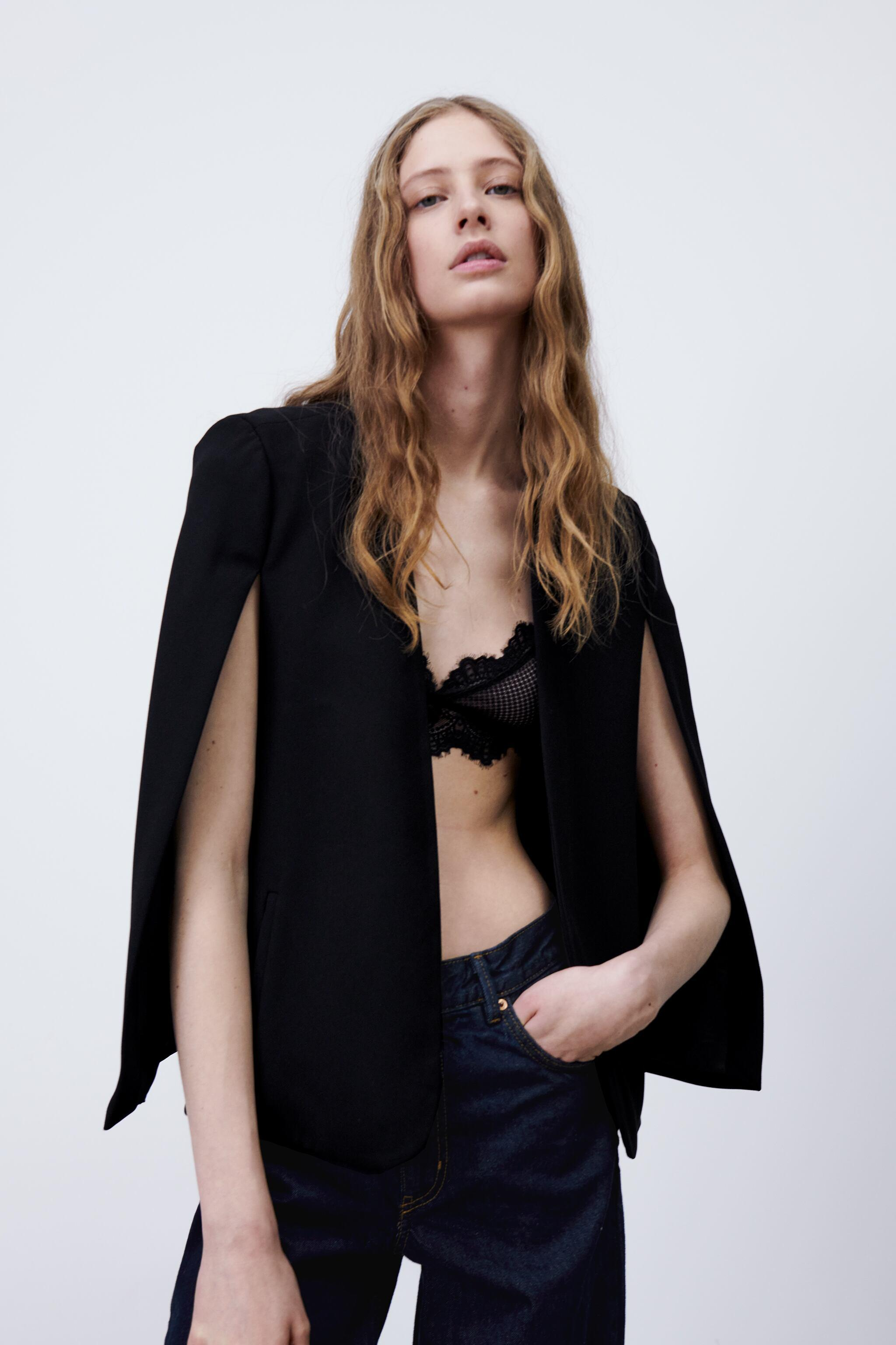 CAPE WITH SLITS 1