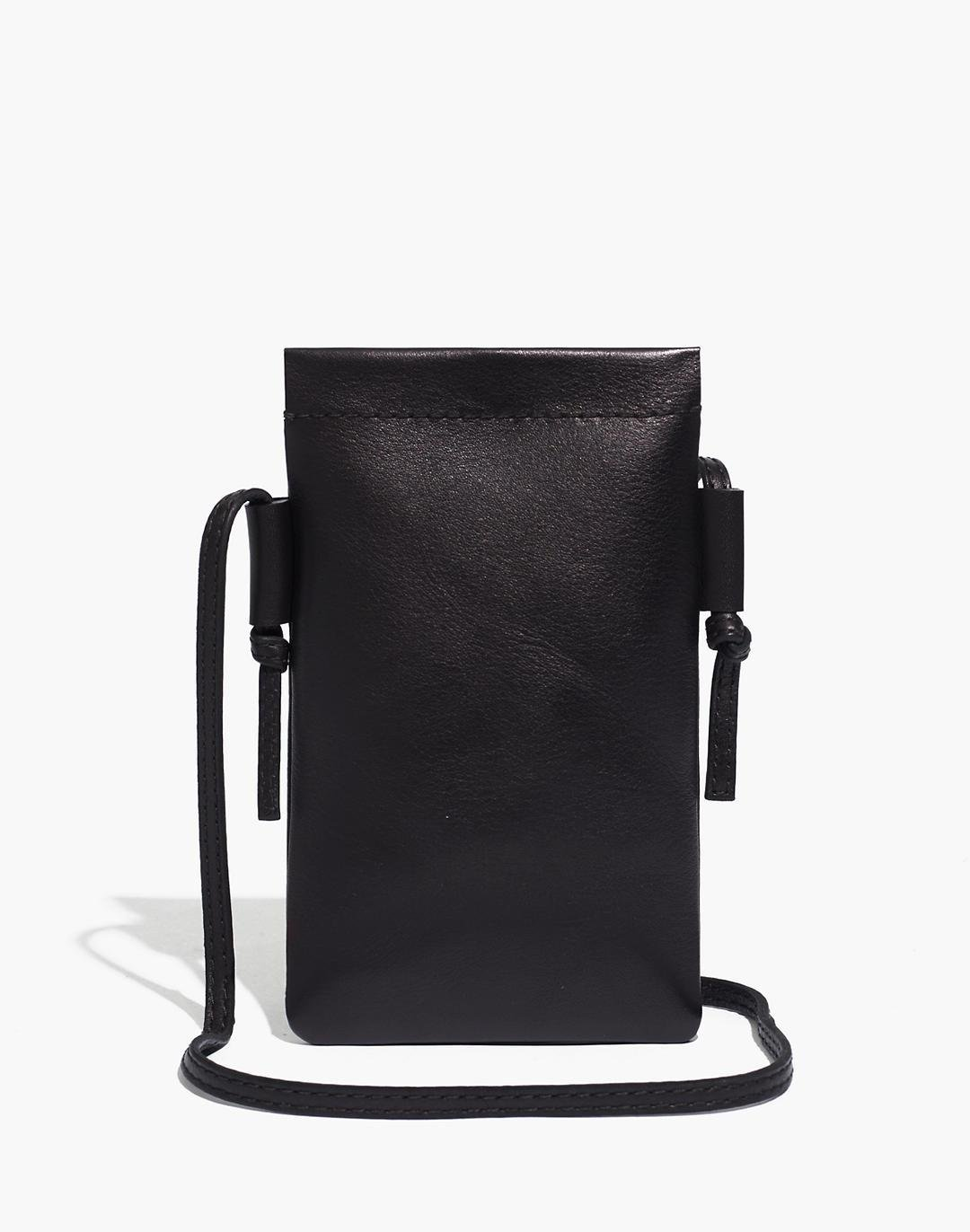 The Smartphone Crossbody Bag in Leather