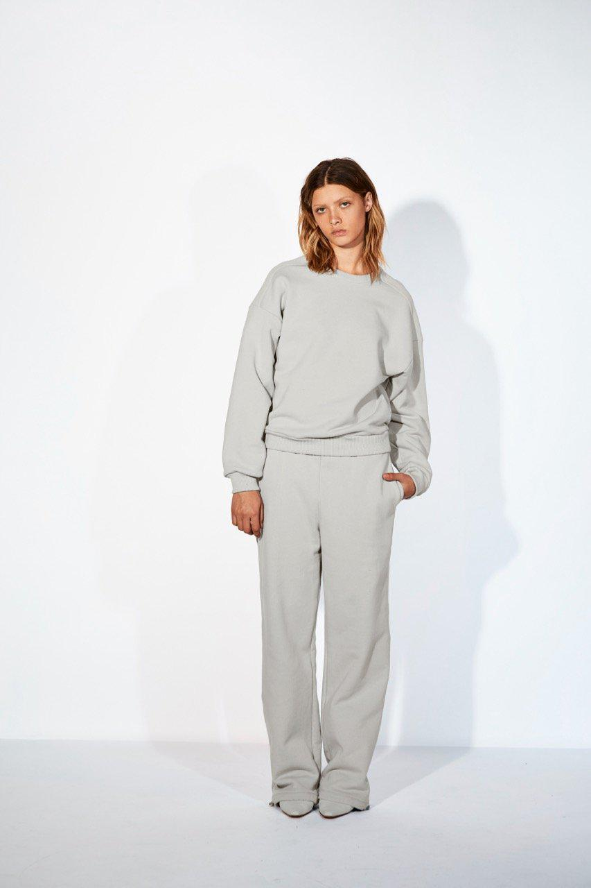 French Terry High Waisted Sweatpants 12