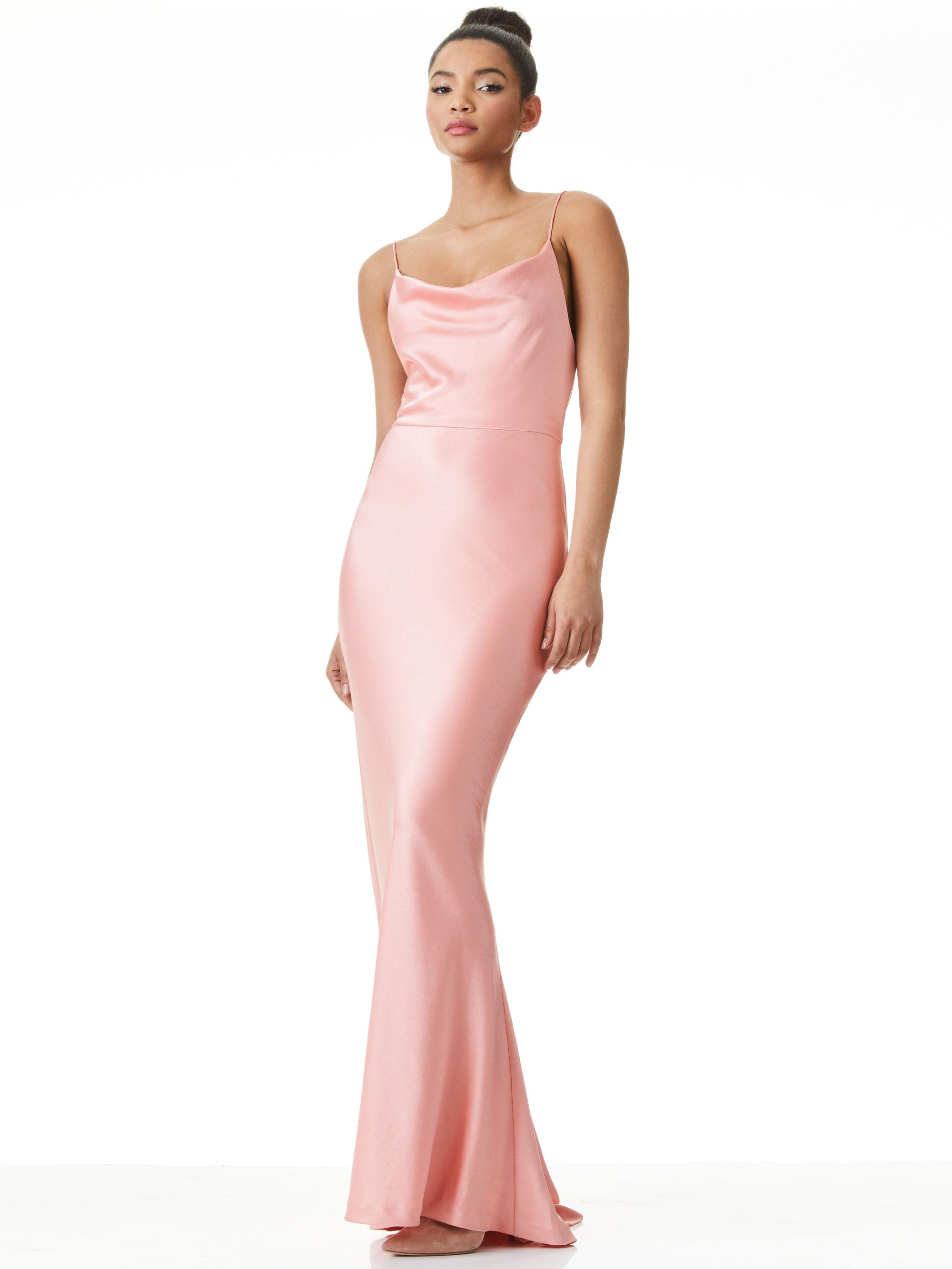 MONTANA COWL BACK MAXI GOWN
