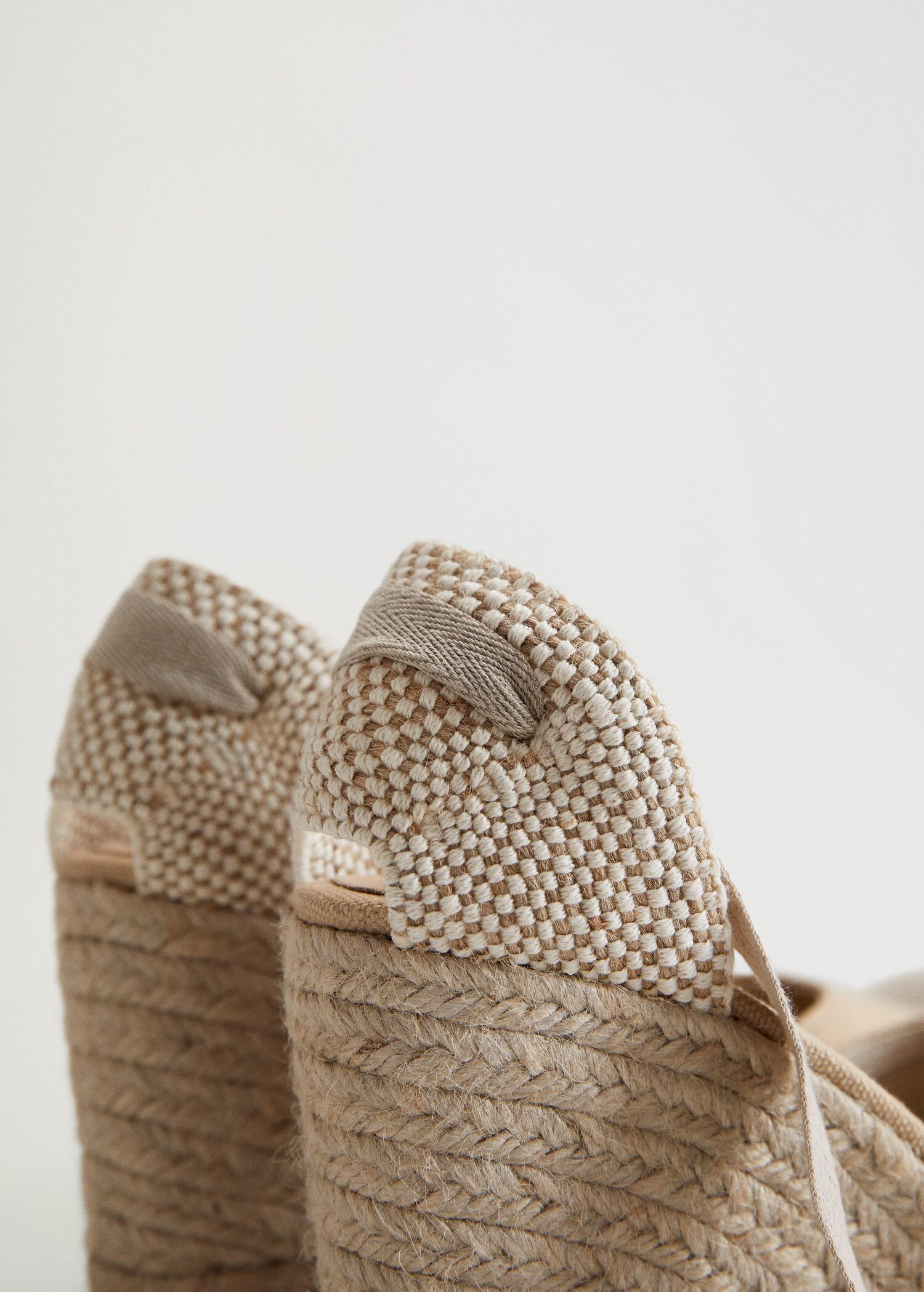 Wedge strips sandals 2