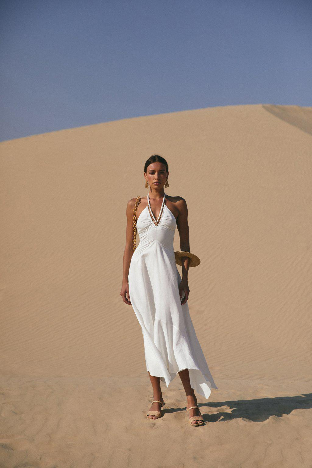 CONSTANCE DRESS - OFF WHITE