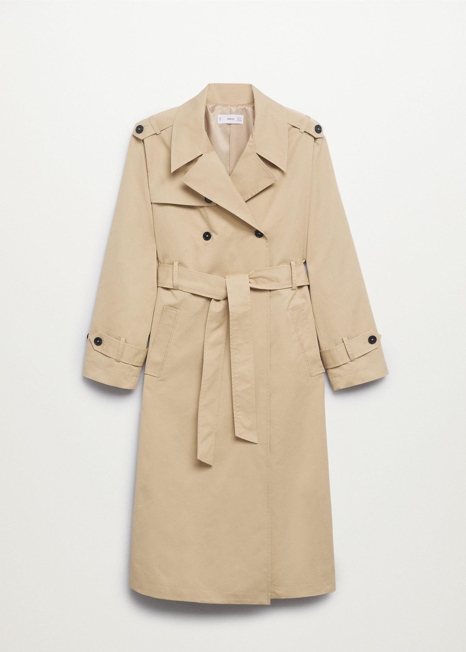 Classic cotton trench coat 10