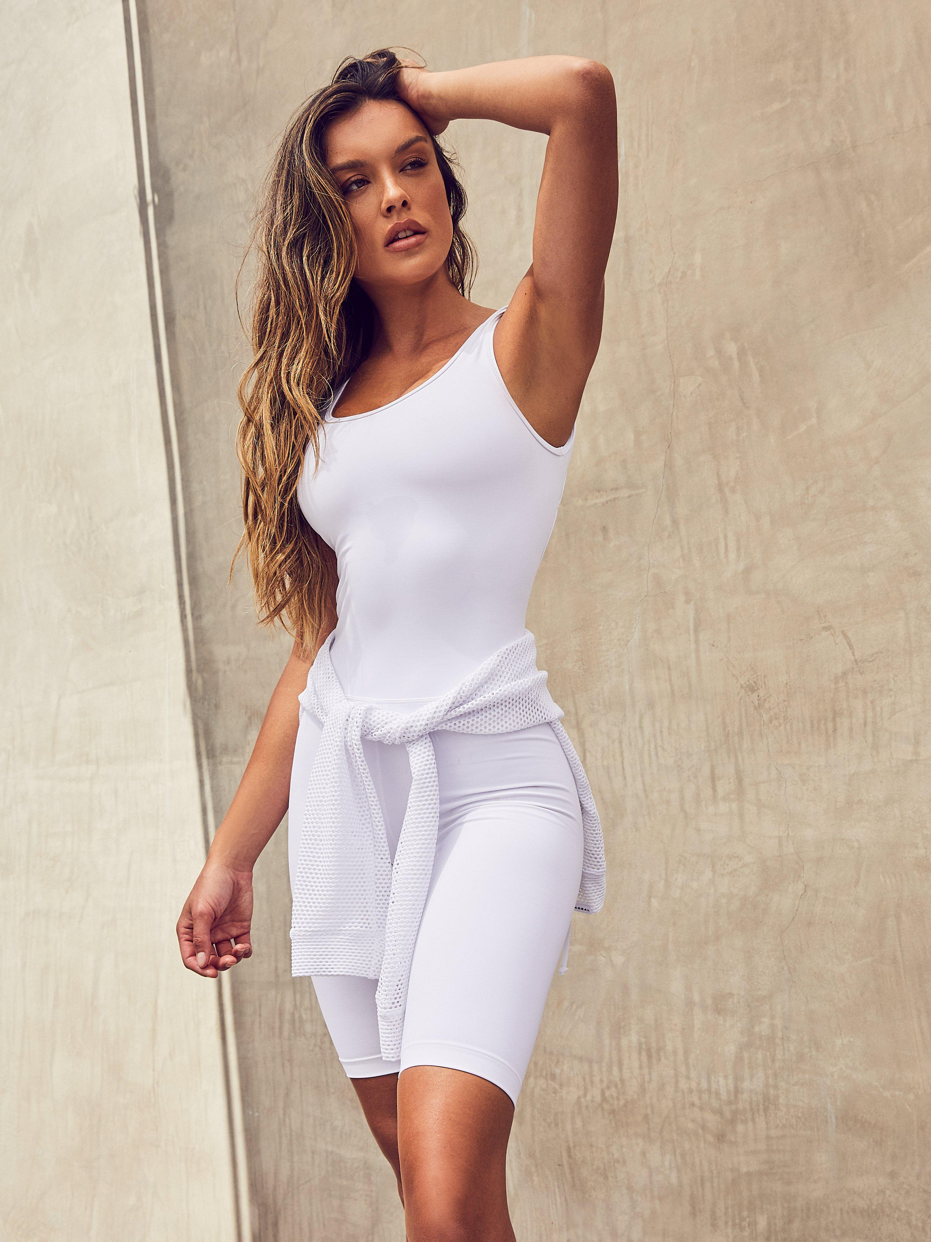 Intact Blackout Jumpsuit - White