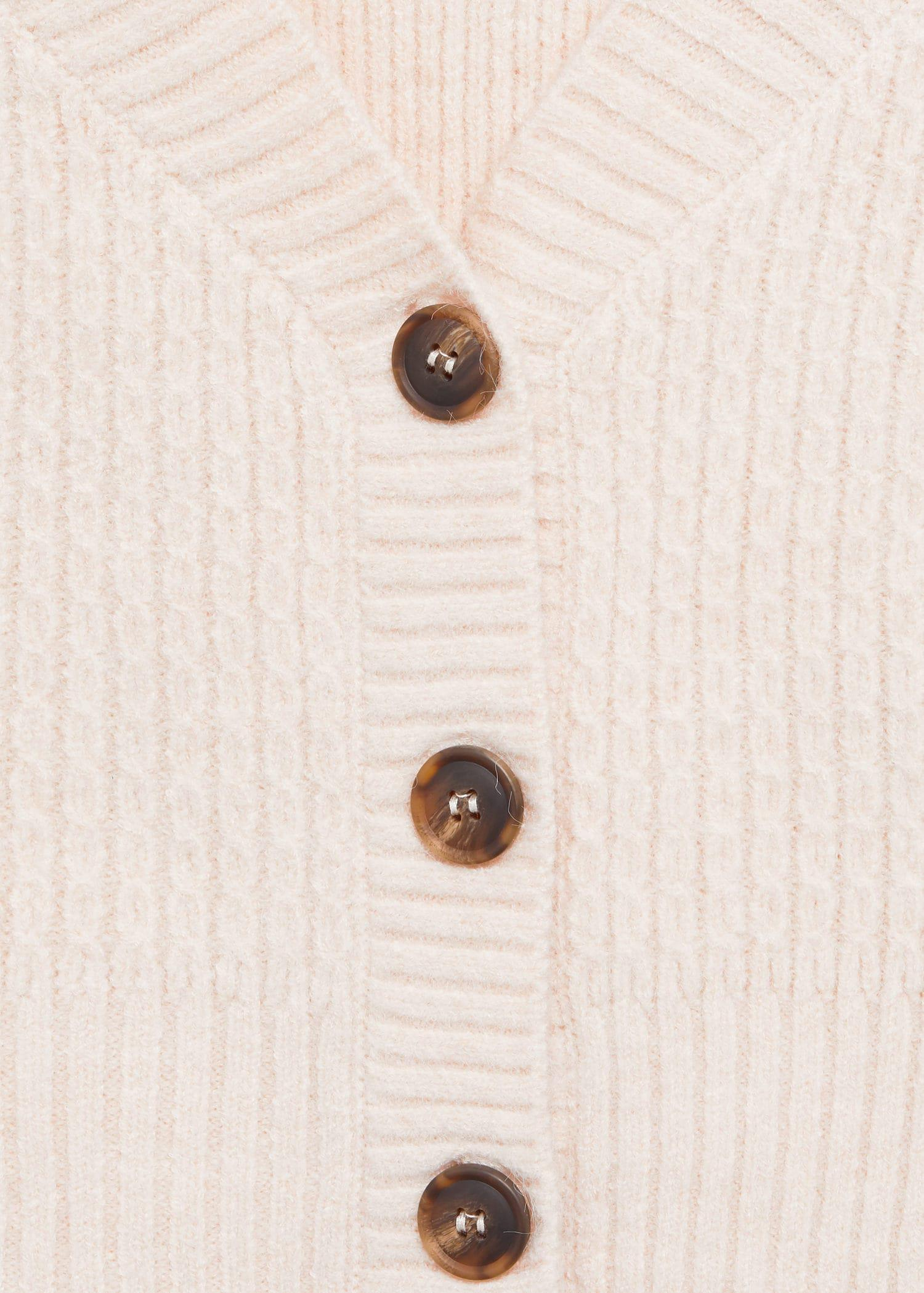 Cropped cardigan with buttons 5