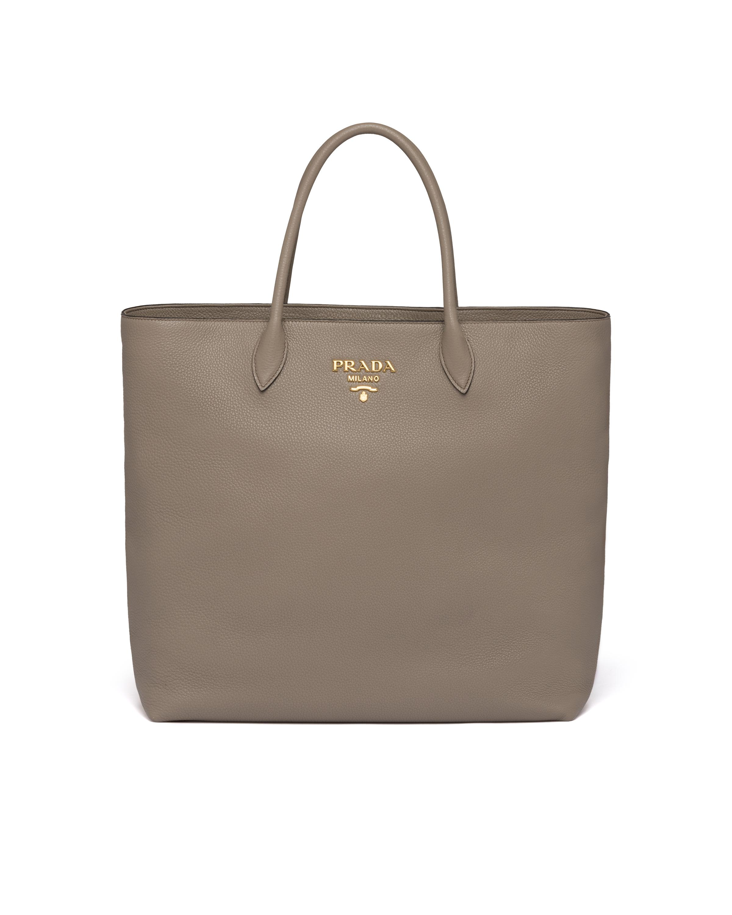 Leather Tote Women Clay Gray 7