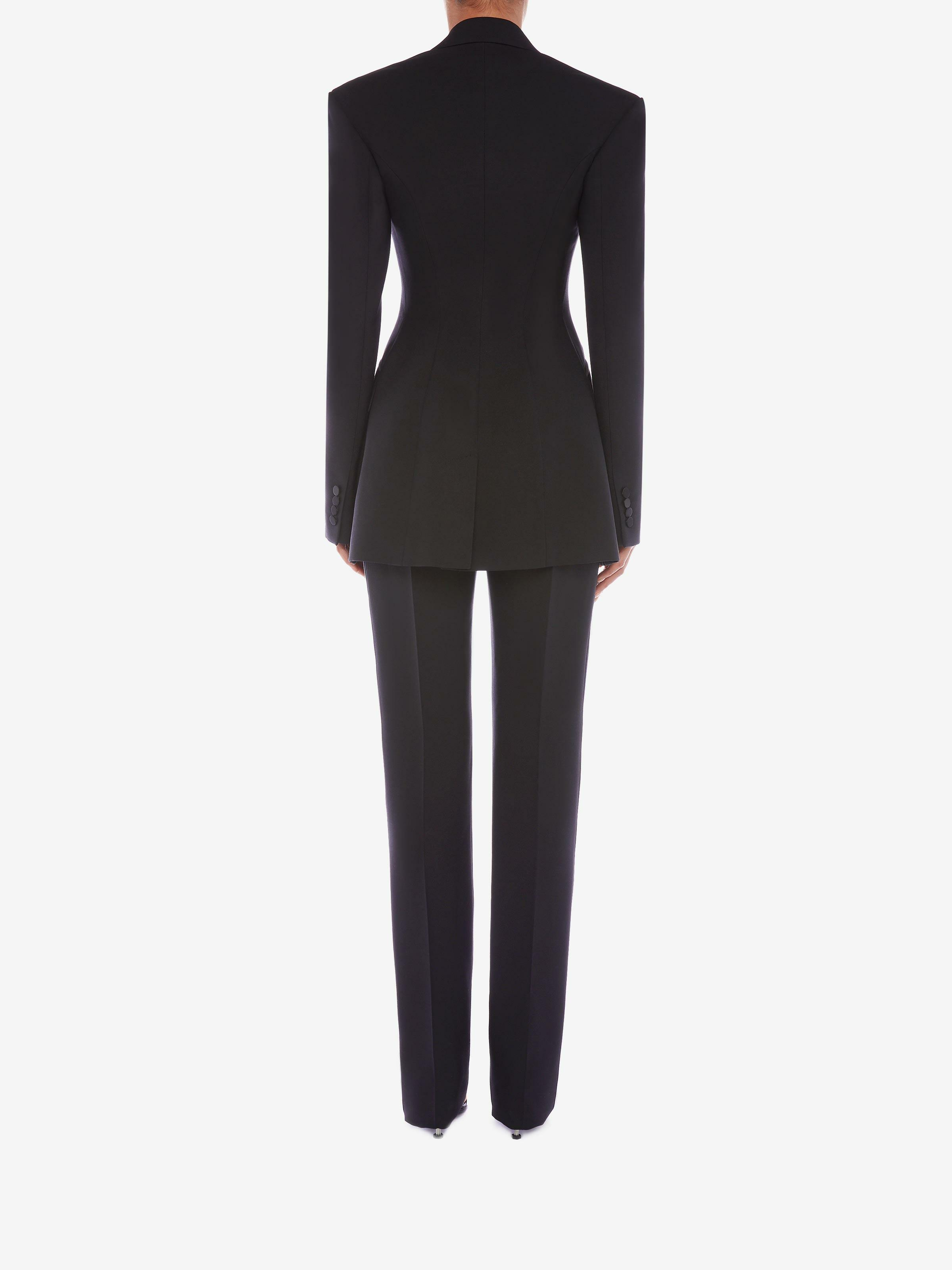Double Duchesse High Waisted Trouser 2