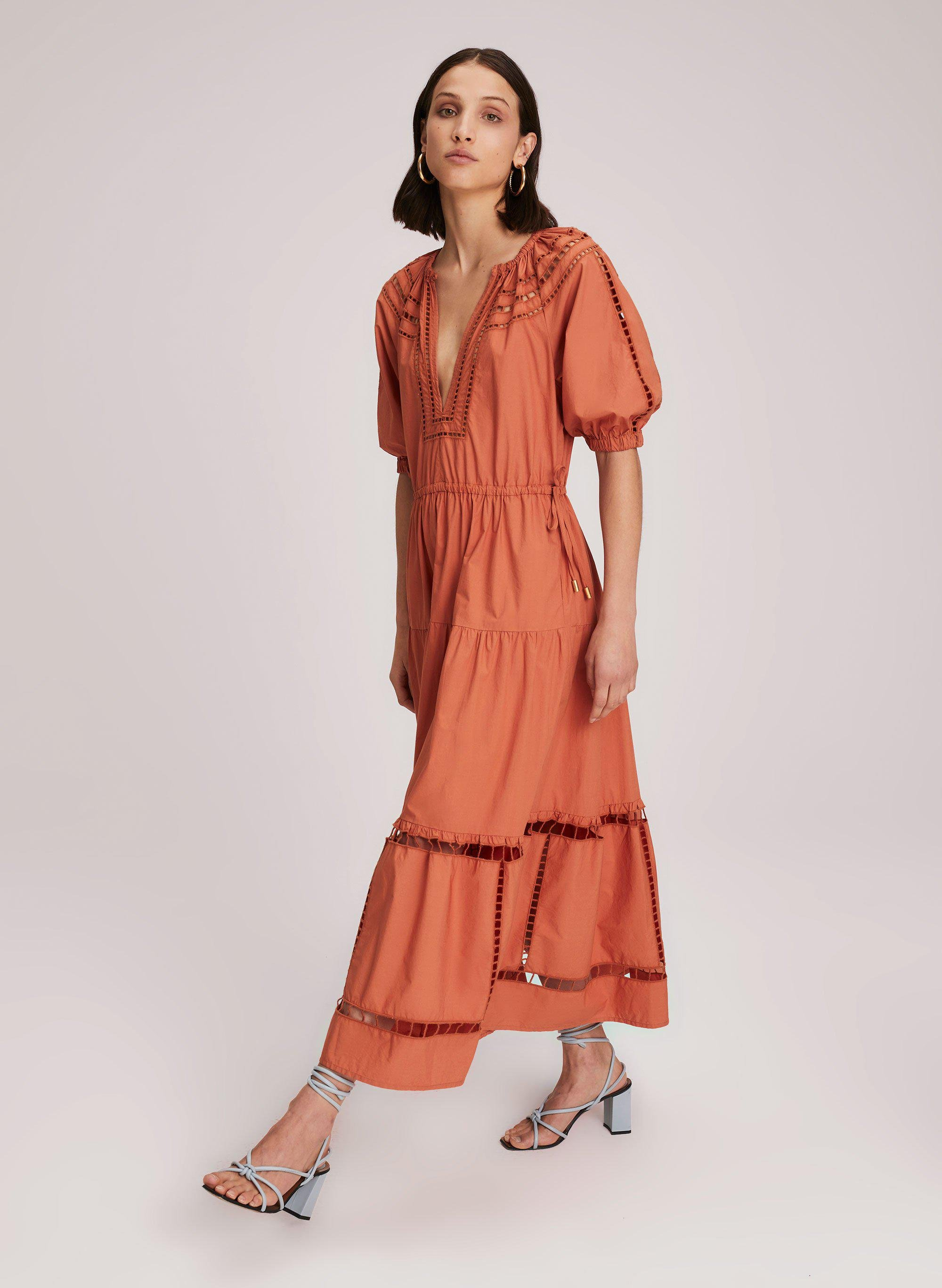 Maryn Embroidered Cotton Dress 2