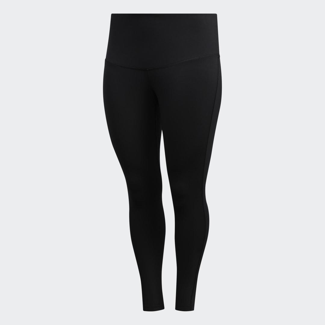 Believe This Solid 7/8 Tights (Plus Size) Black 9