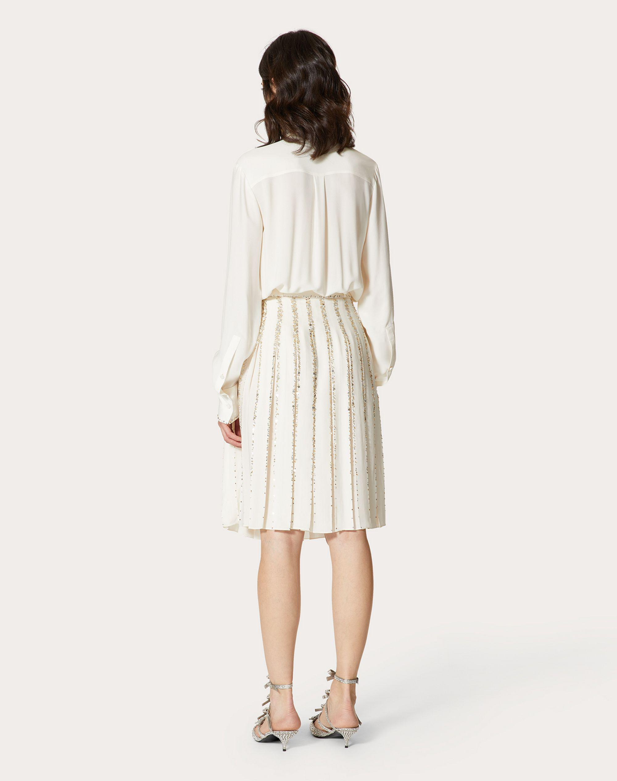 EMBROIDERED GEORGETTE DRESS 2