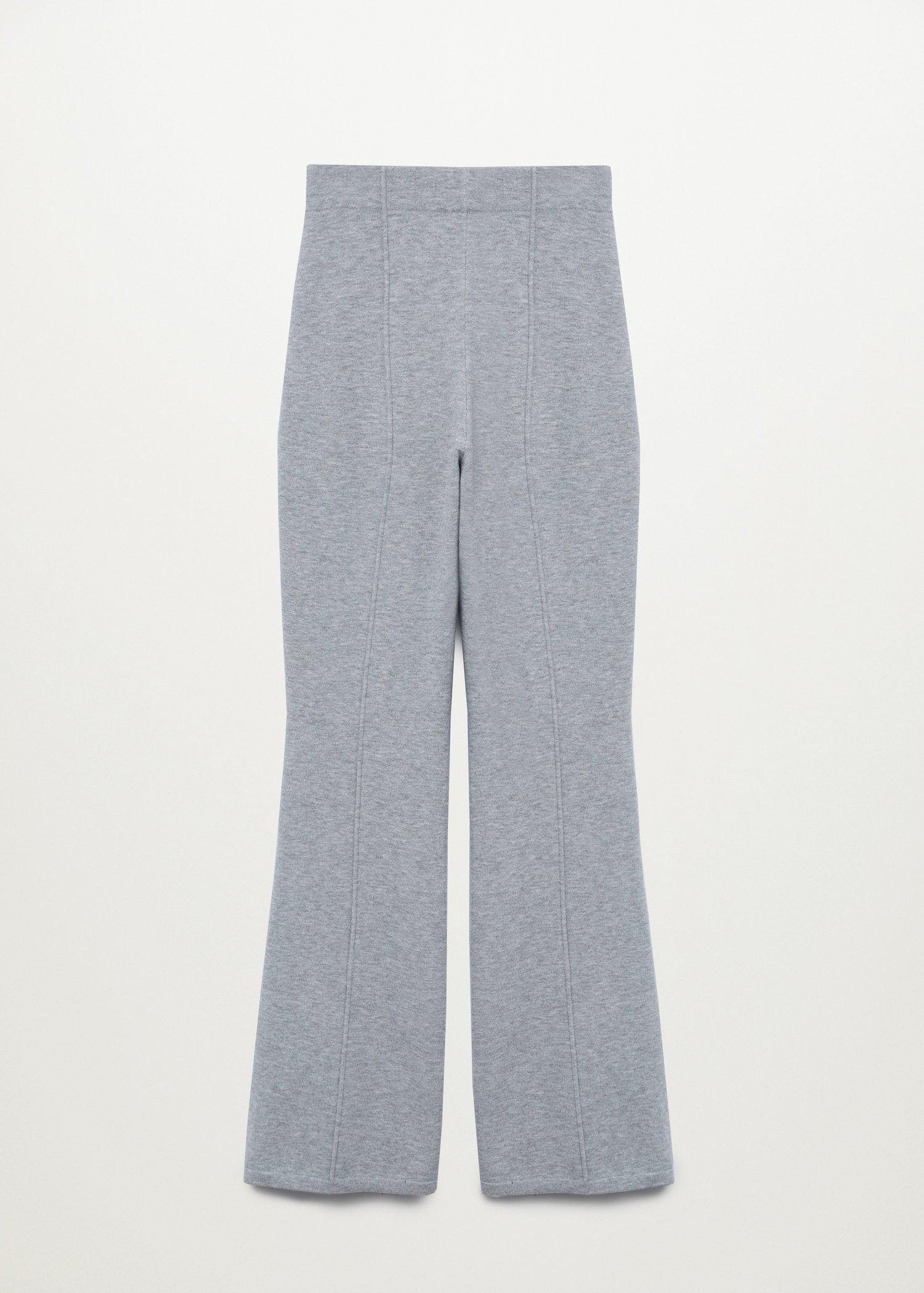 Flared knitted pants 7