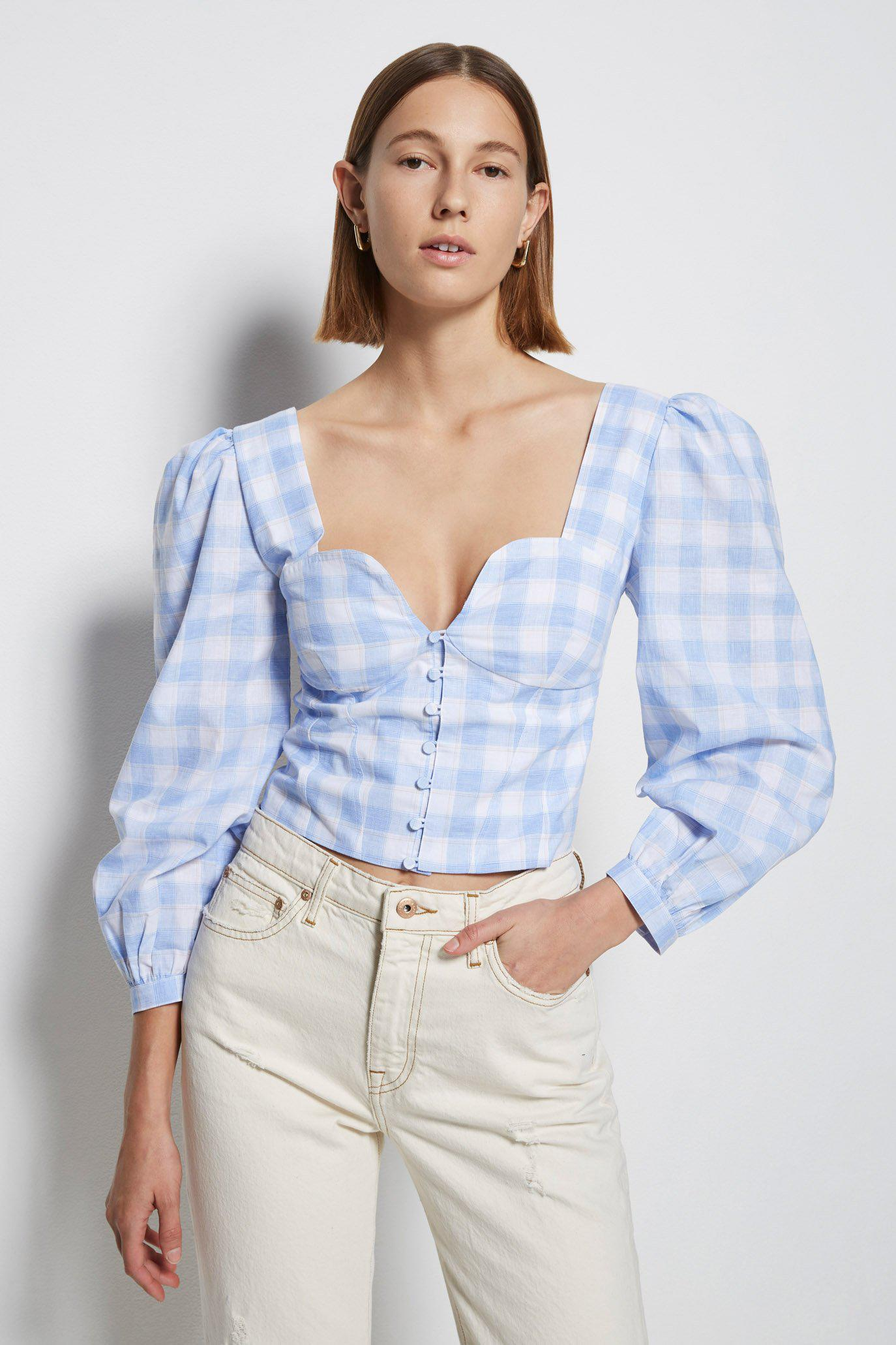 Mary Jane Oxford Top