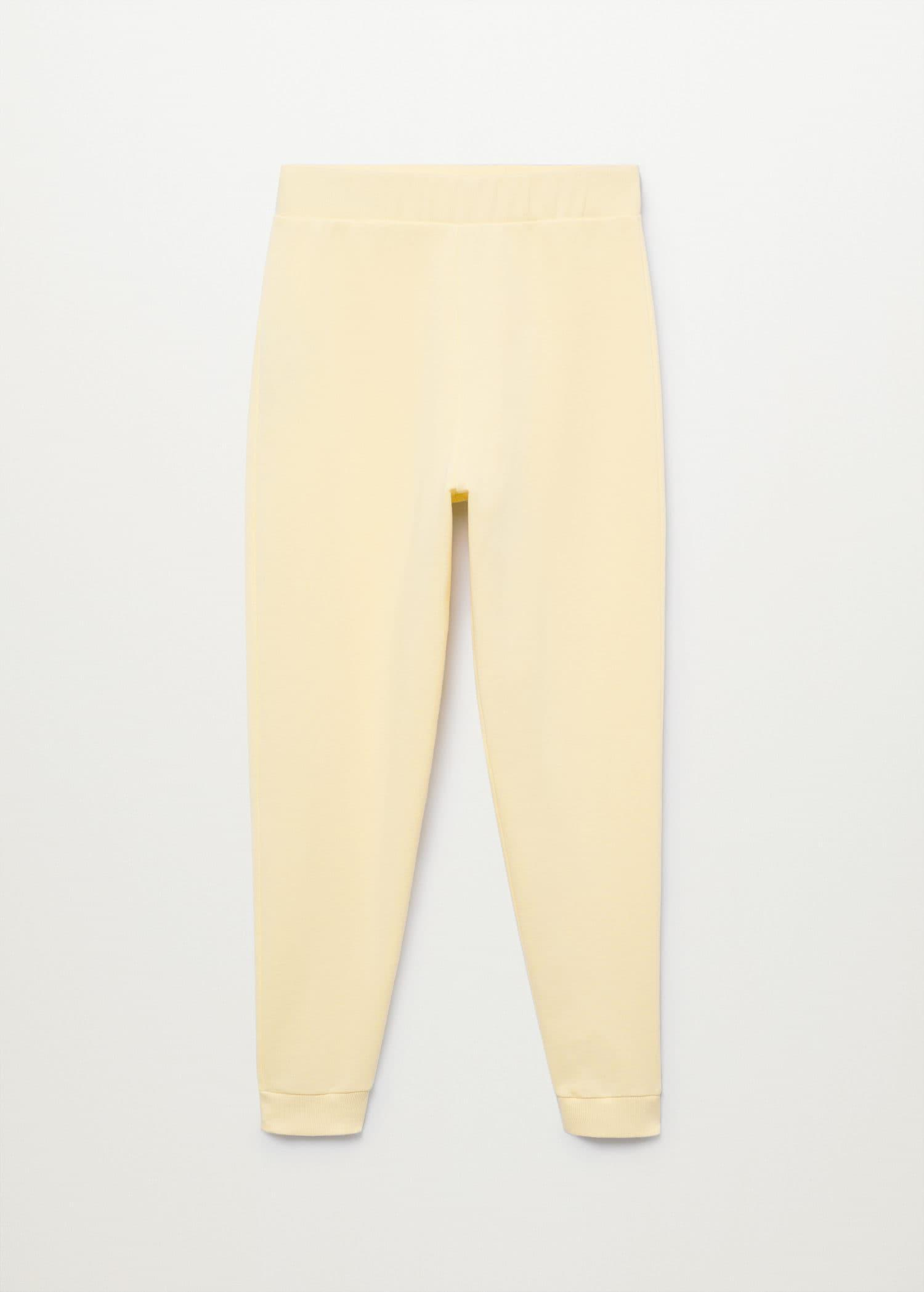 Cotton jogger-style trousers 6