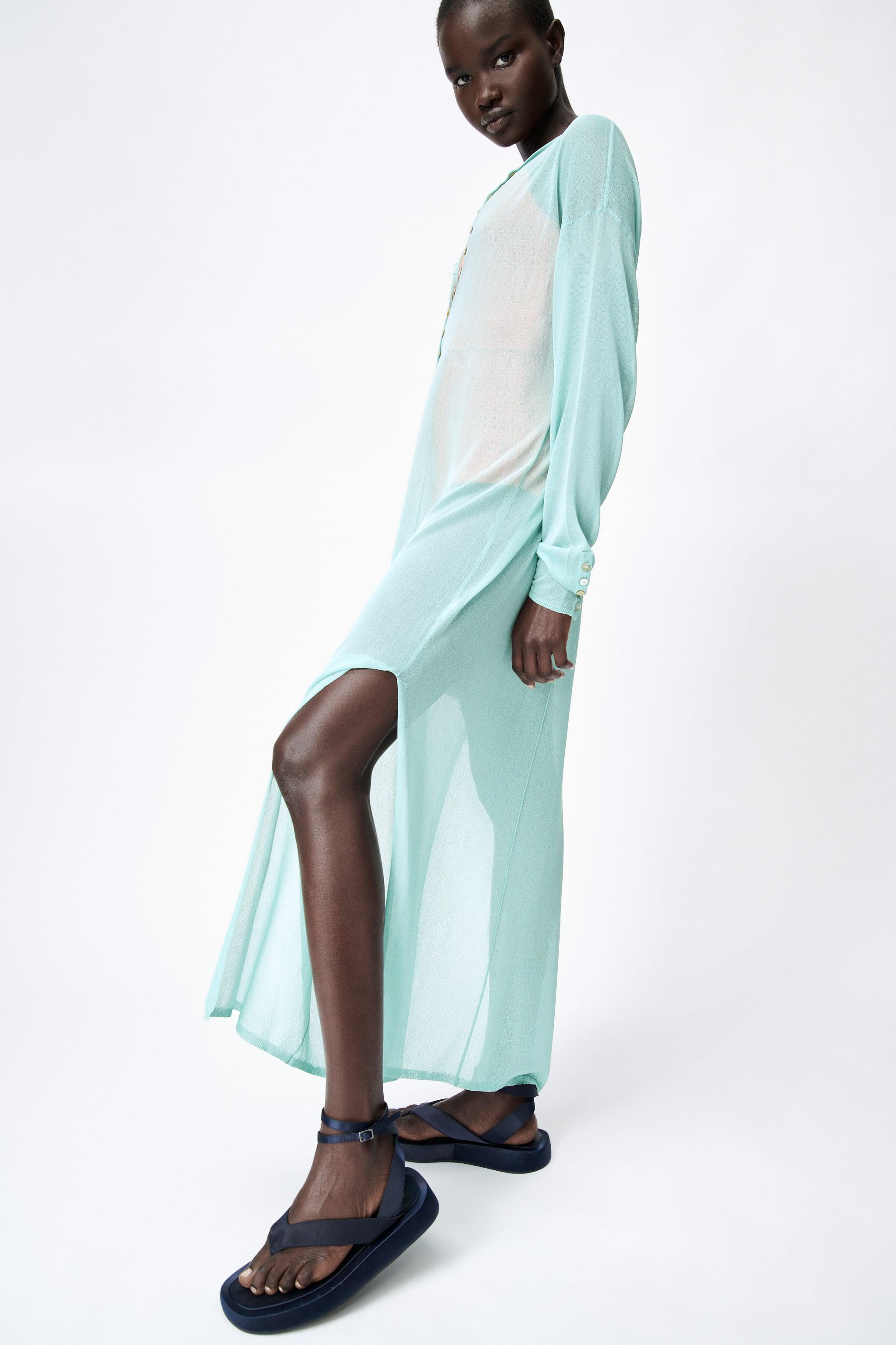 SEMI-SHEER KNIT TUNIC LIMITED EDITION 4