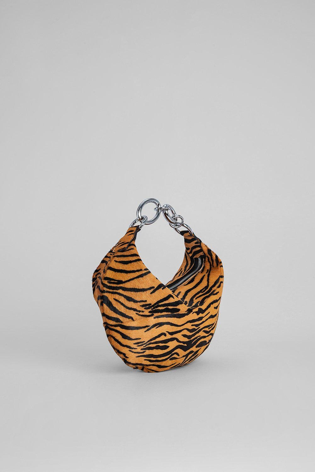 Bougie Tiger-Print Pony Hair Leather 1