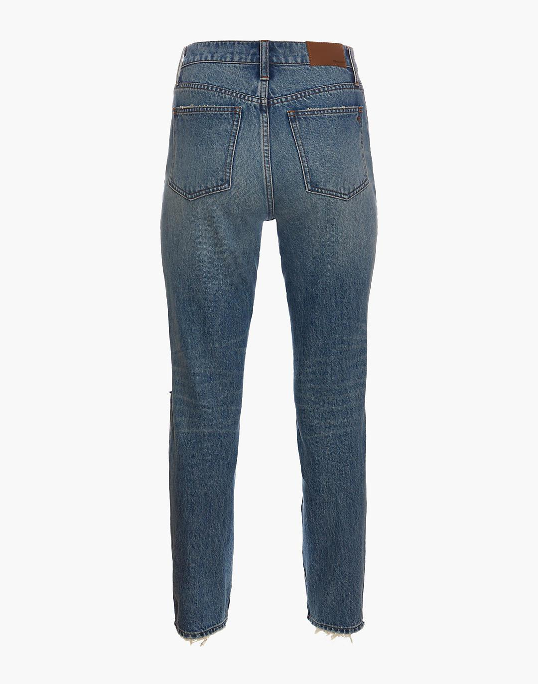 The Perfect Vintage Jean in Phillips Wash: Knee-Rips Edition 4