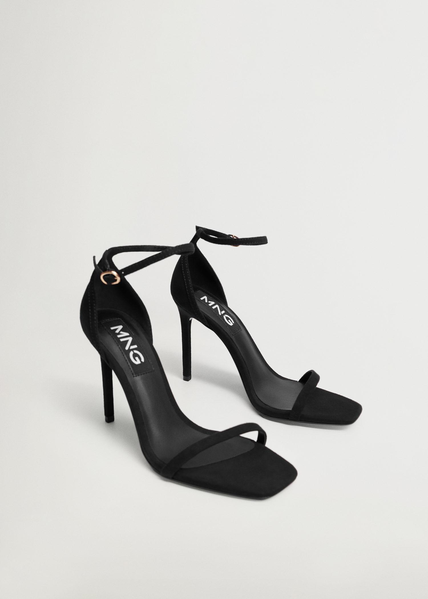 Ankle-cuff sandals 1