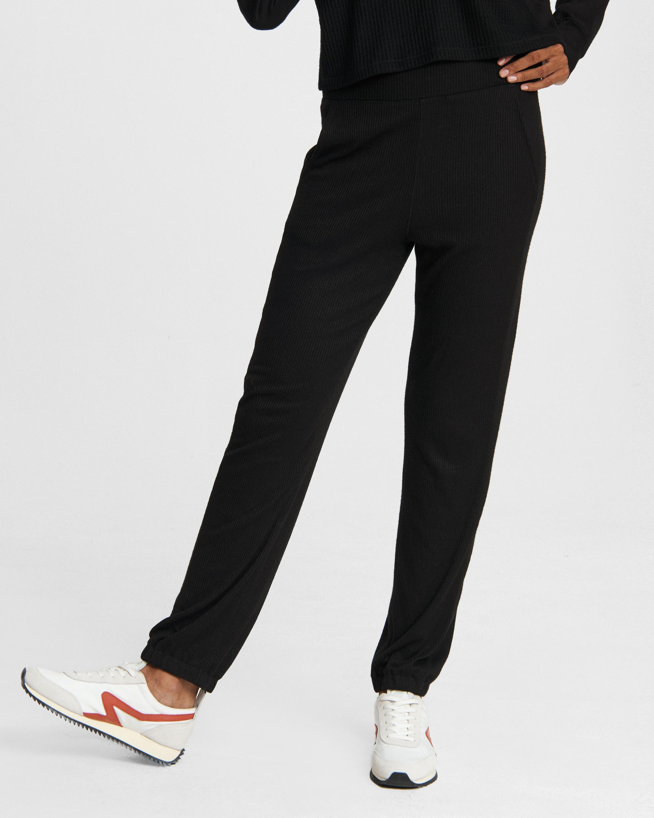 The knit jersey pant