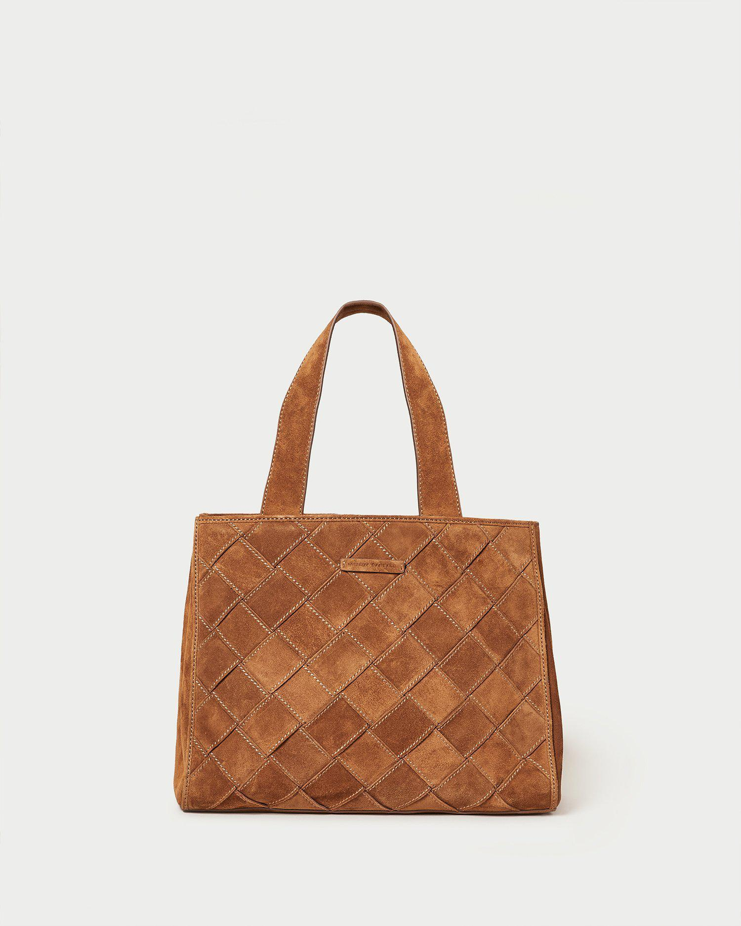 Brandy Cacao Work Tote