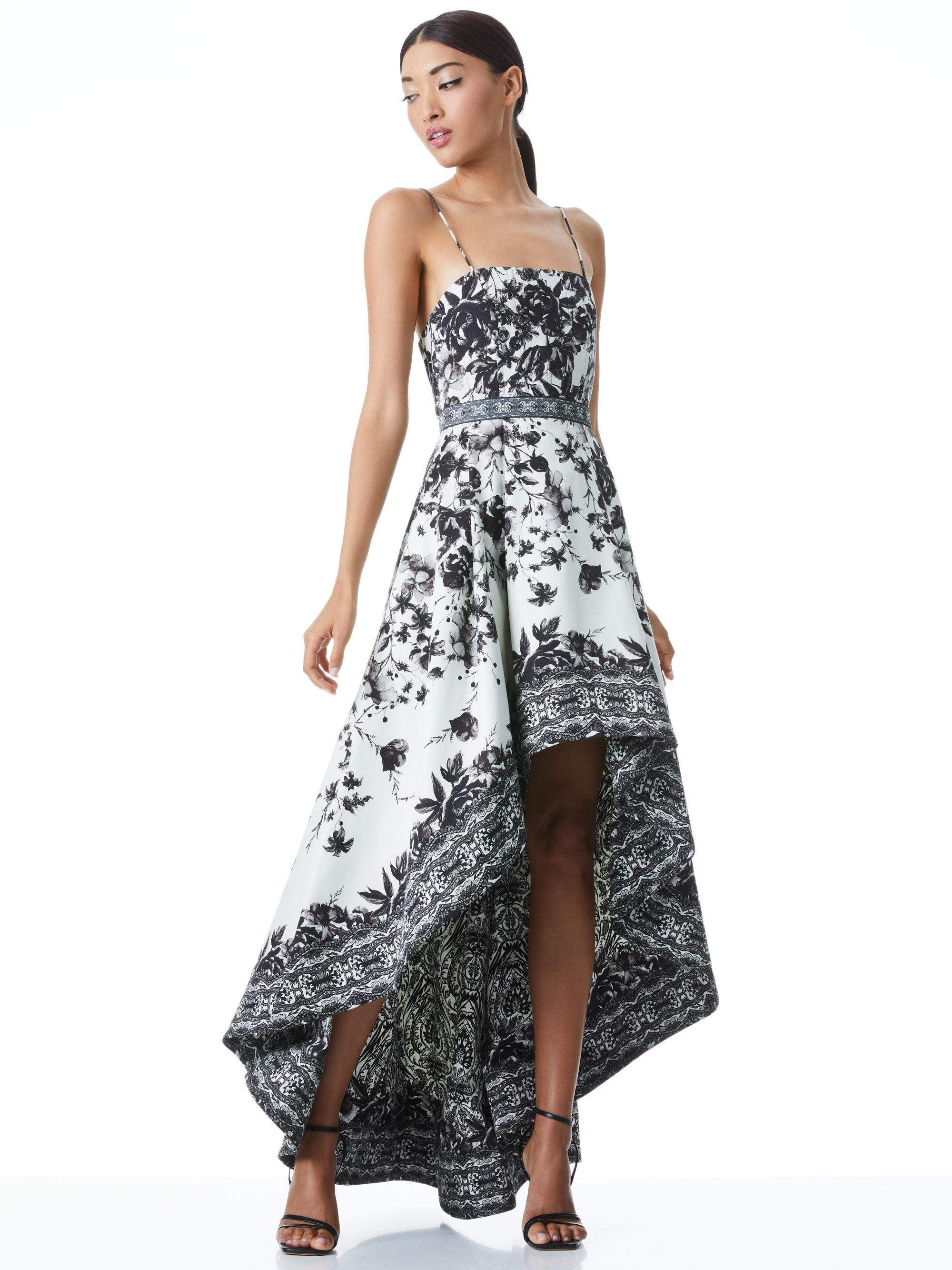 FLORENCE HIGH LOW GOWN