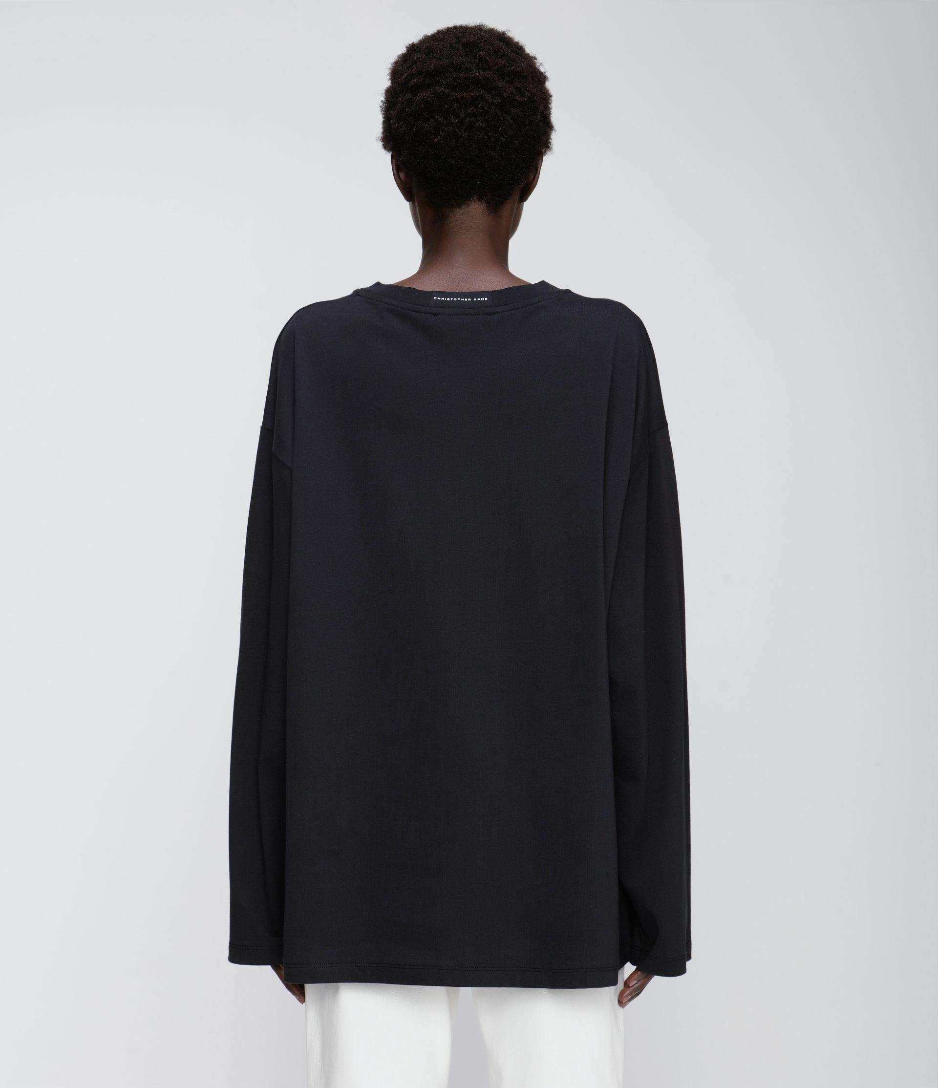 Painted by Christopher Kane long sleeve t-shirt 3