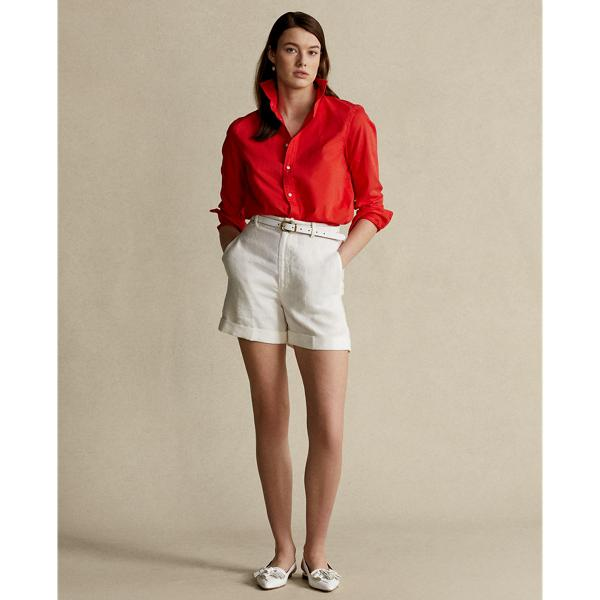 Relaxed Fit Cotton Twill Shirt 0