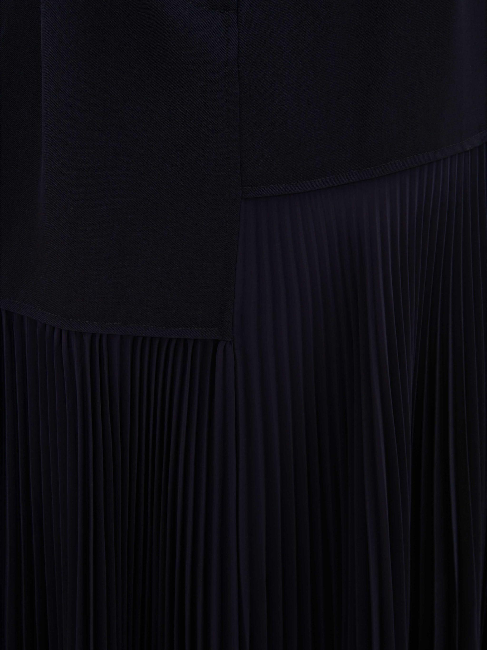 BELTED PLEATED SKIRT 4