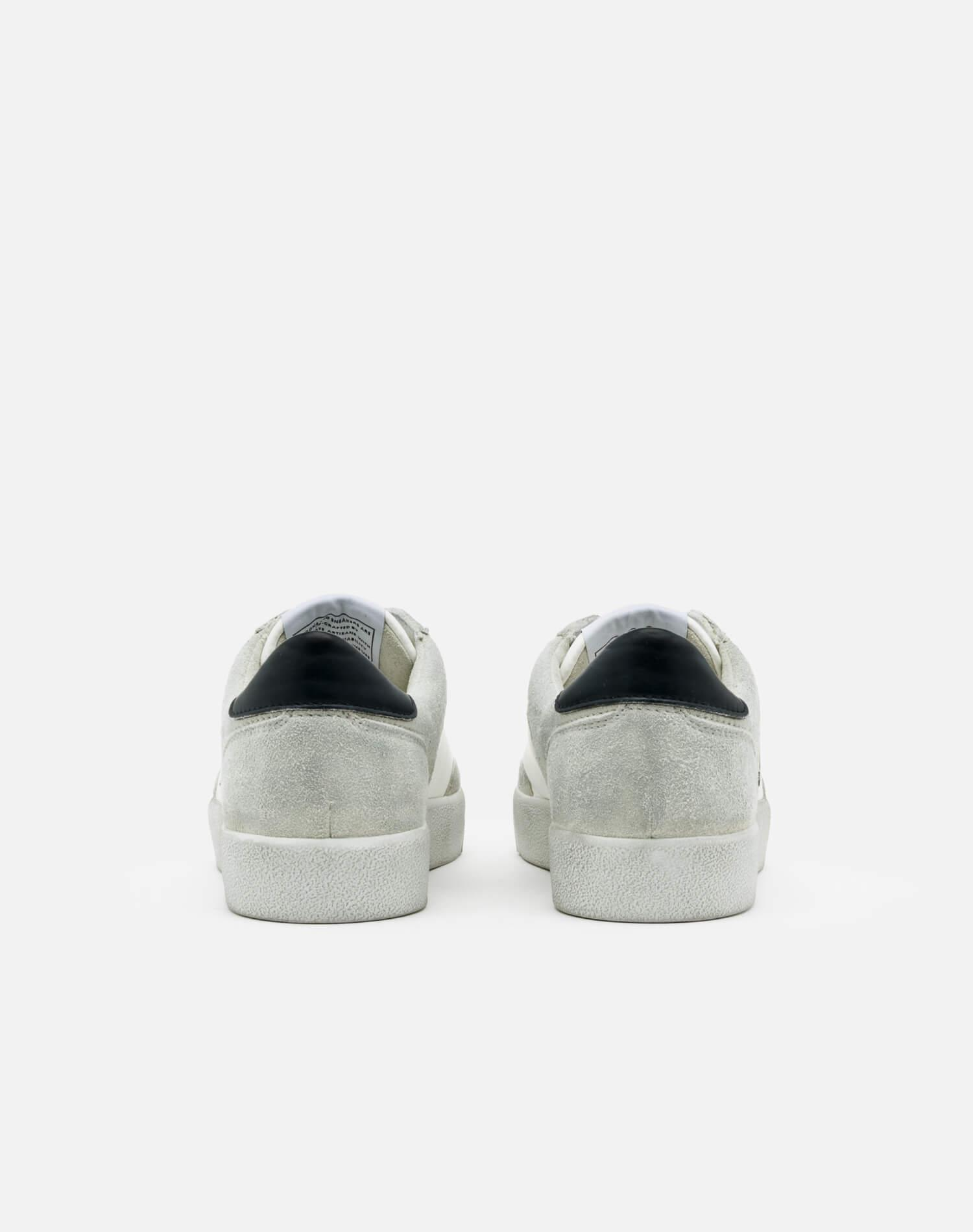90s Sustainable Skate Shoe - White and Black 3