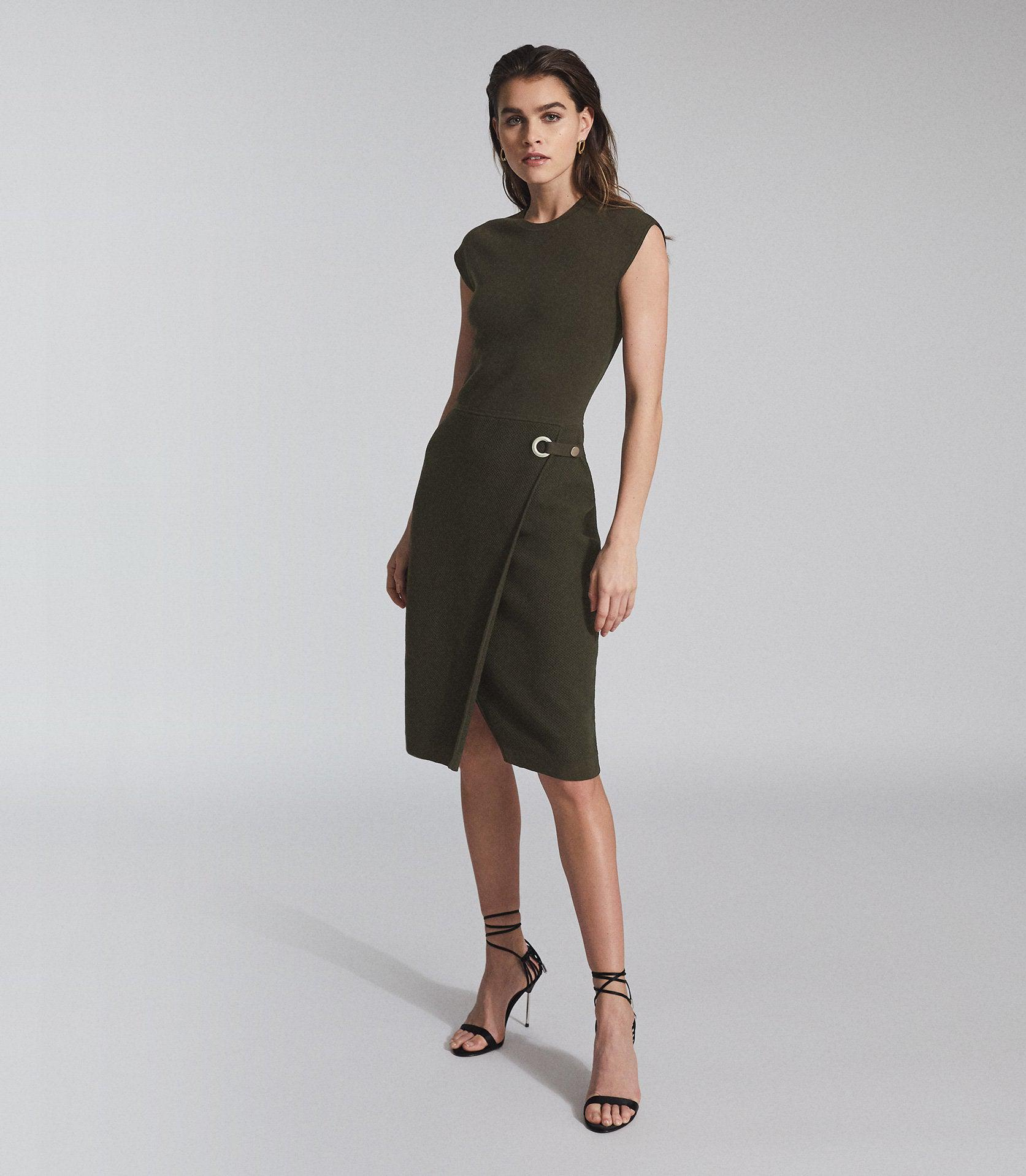 THEA - KNITTED BODYCON DRESS
