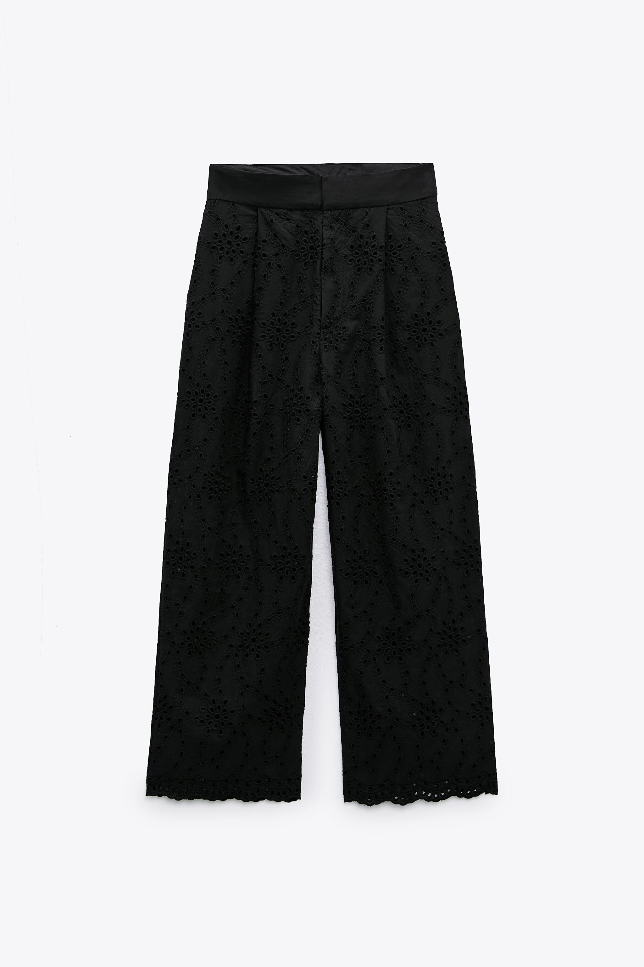 PANTS WITH OPENWORK EMBROIDERY 5