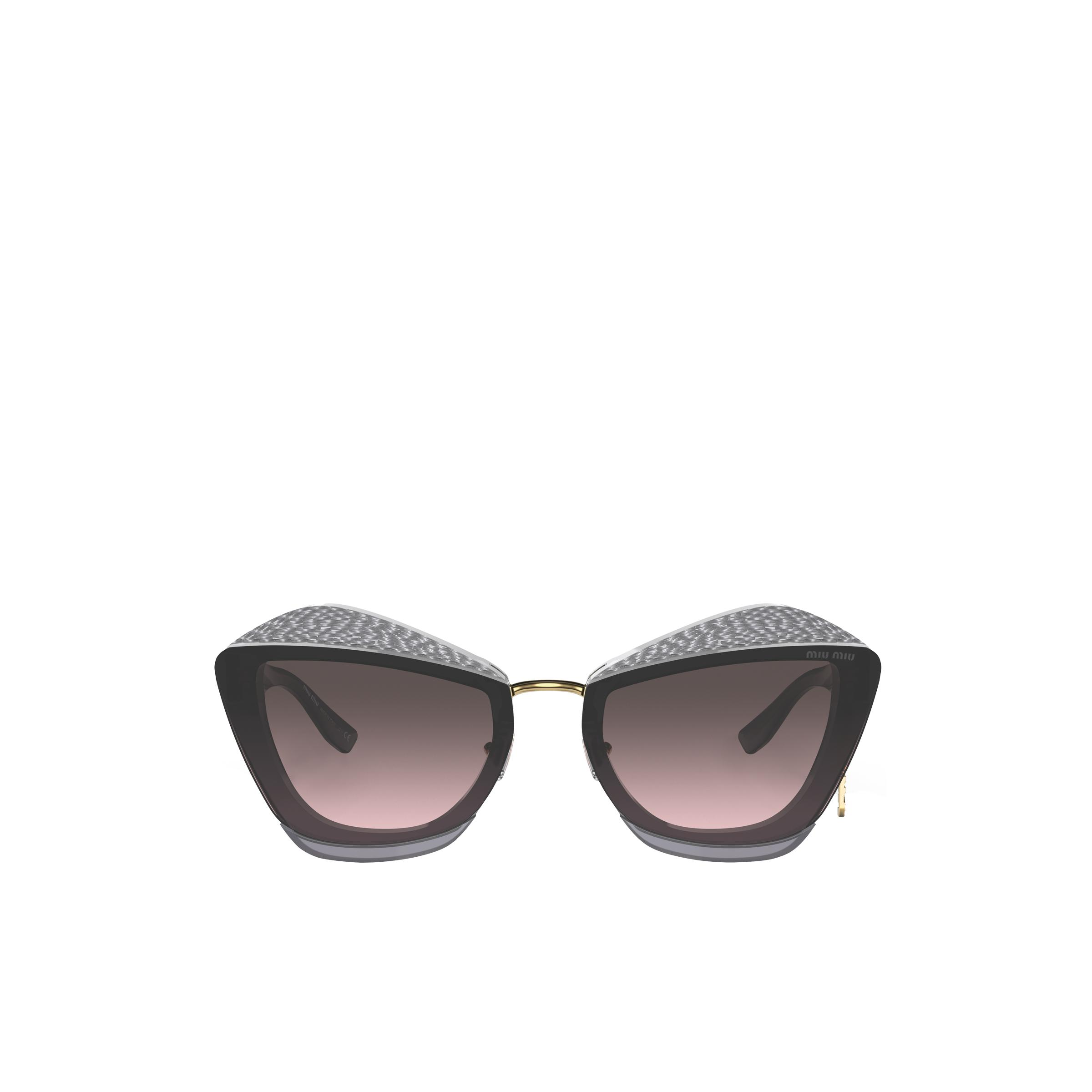 Charms Sunglasses Women Gray To Alabaster Gradient
