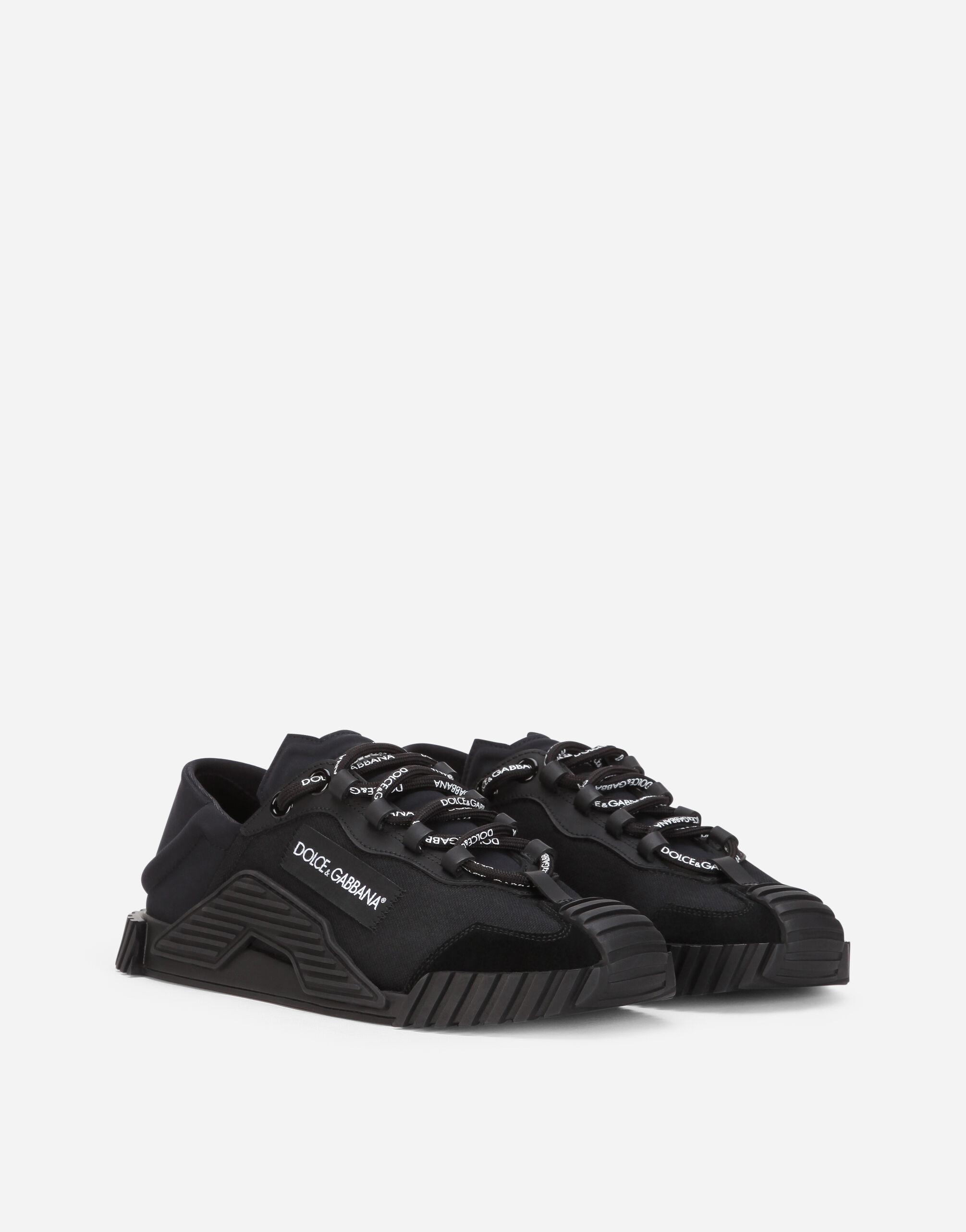 Canvas NS1 slip-on sneakers 1