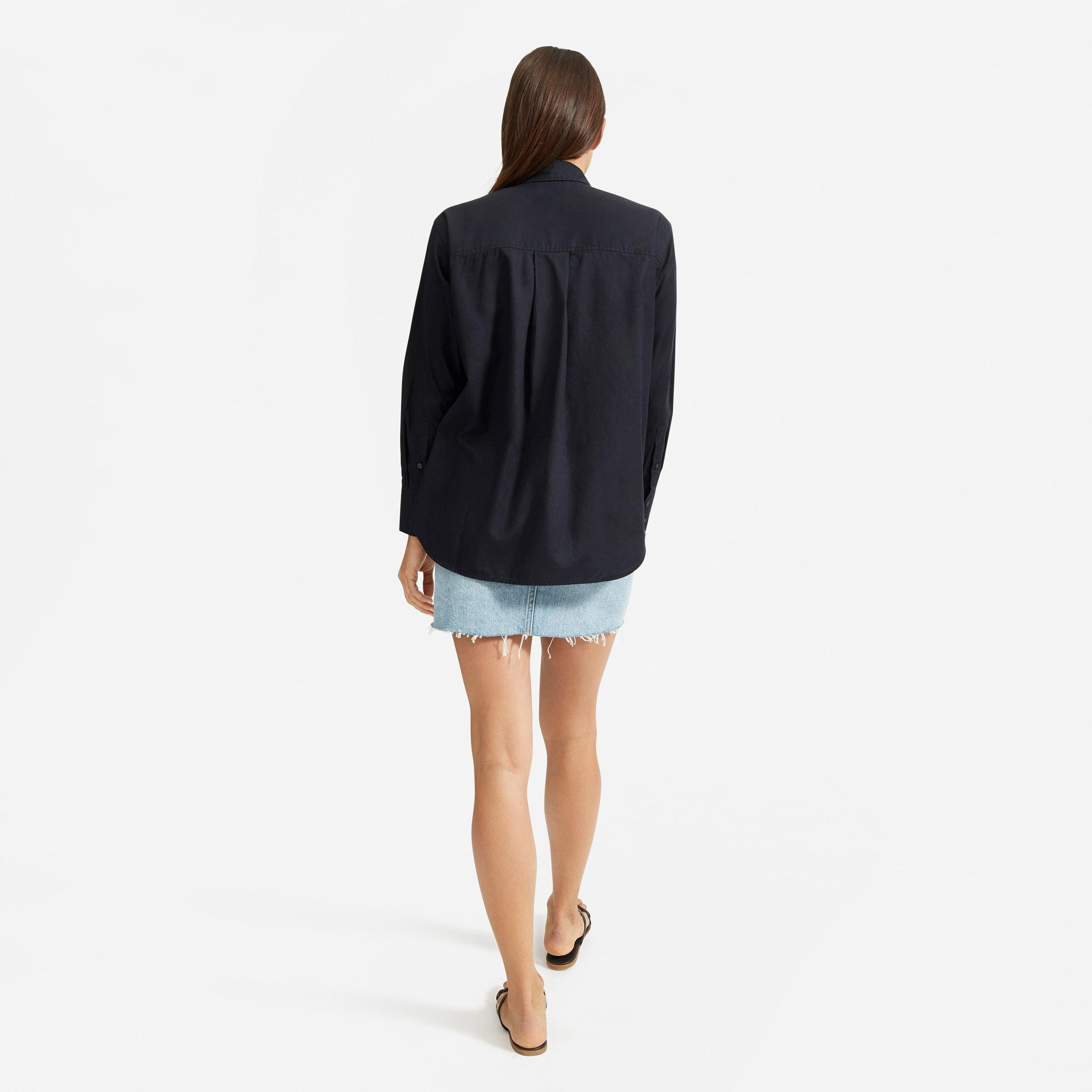 The Silky Cotton Oversized Shirt  3