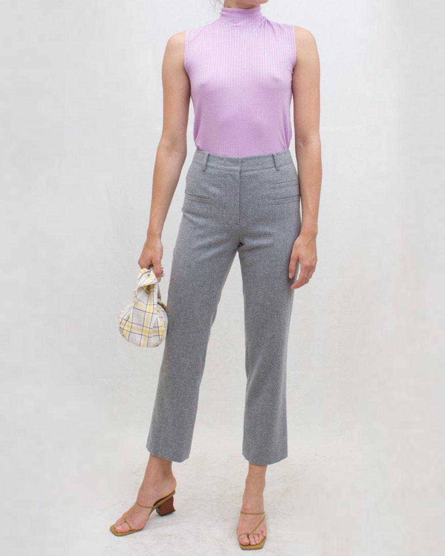 Finley Trousers Wool Suiting Grey - SALE 0
