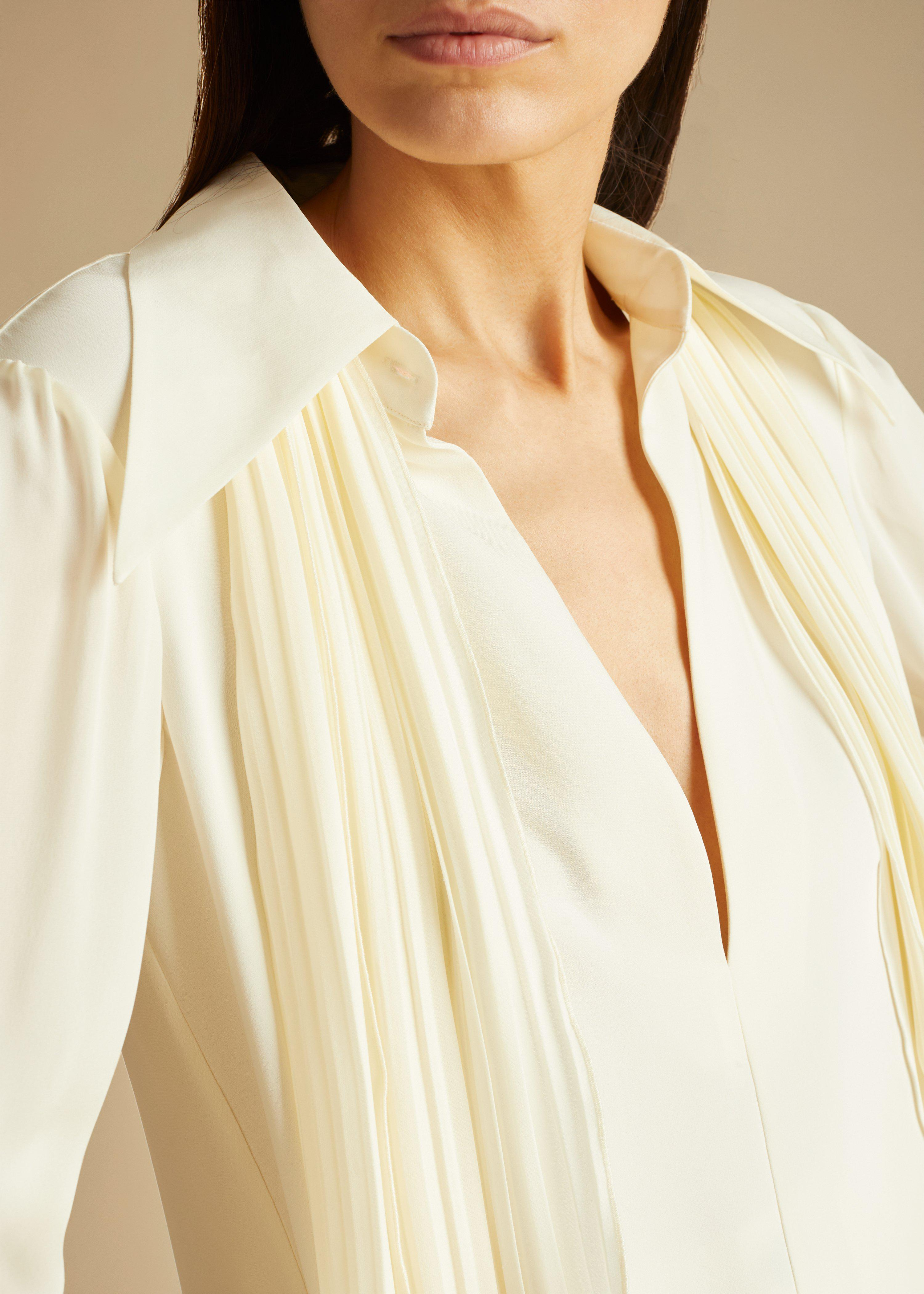 The Nia Top in Ivory 8