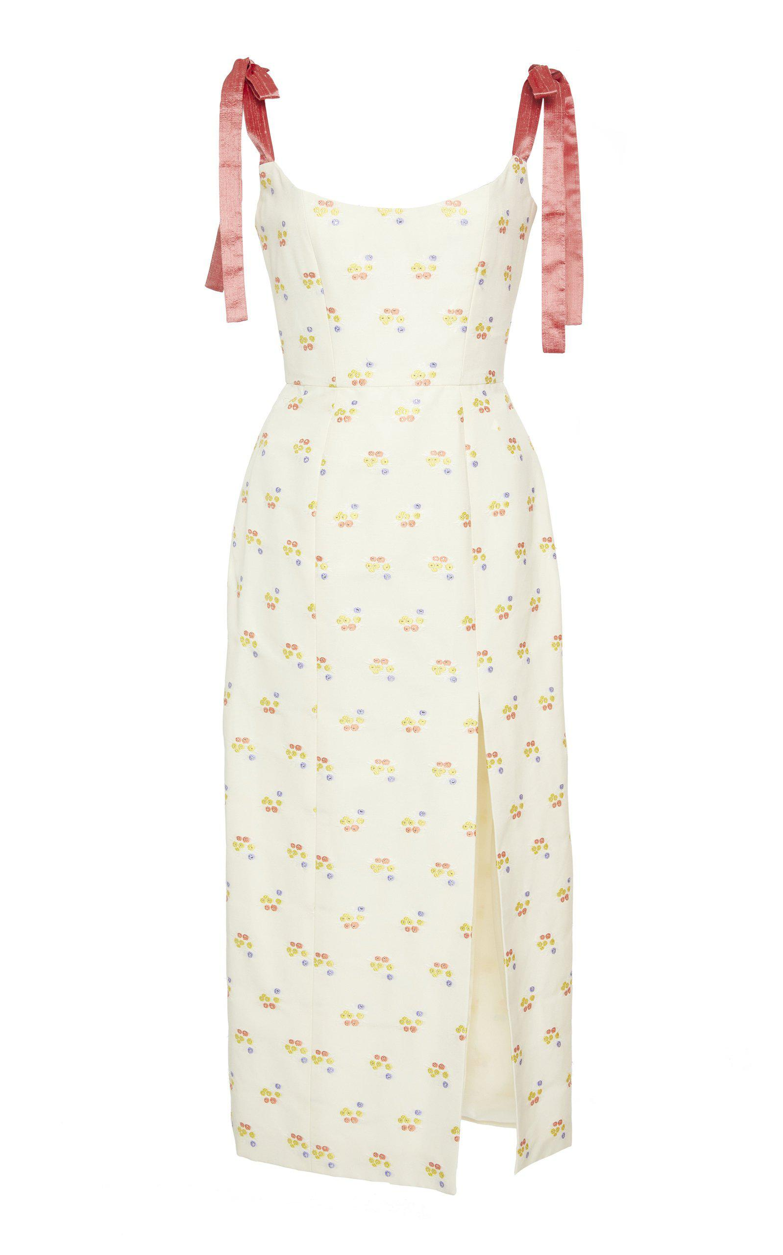 Darcy Floral Embroidered Dress 1