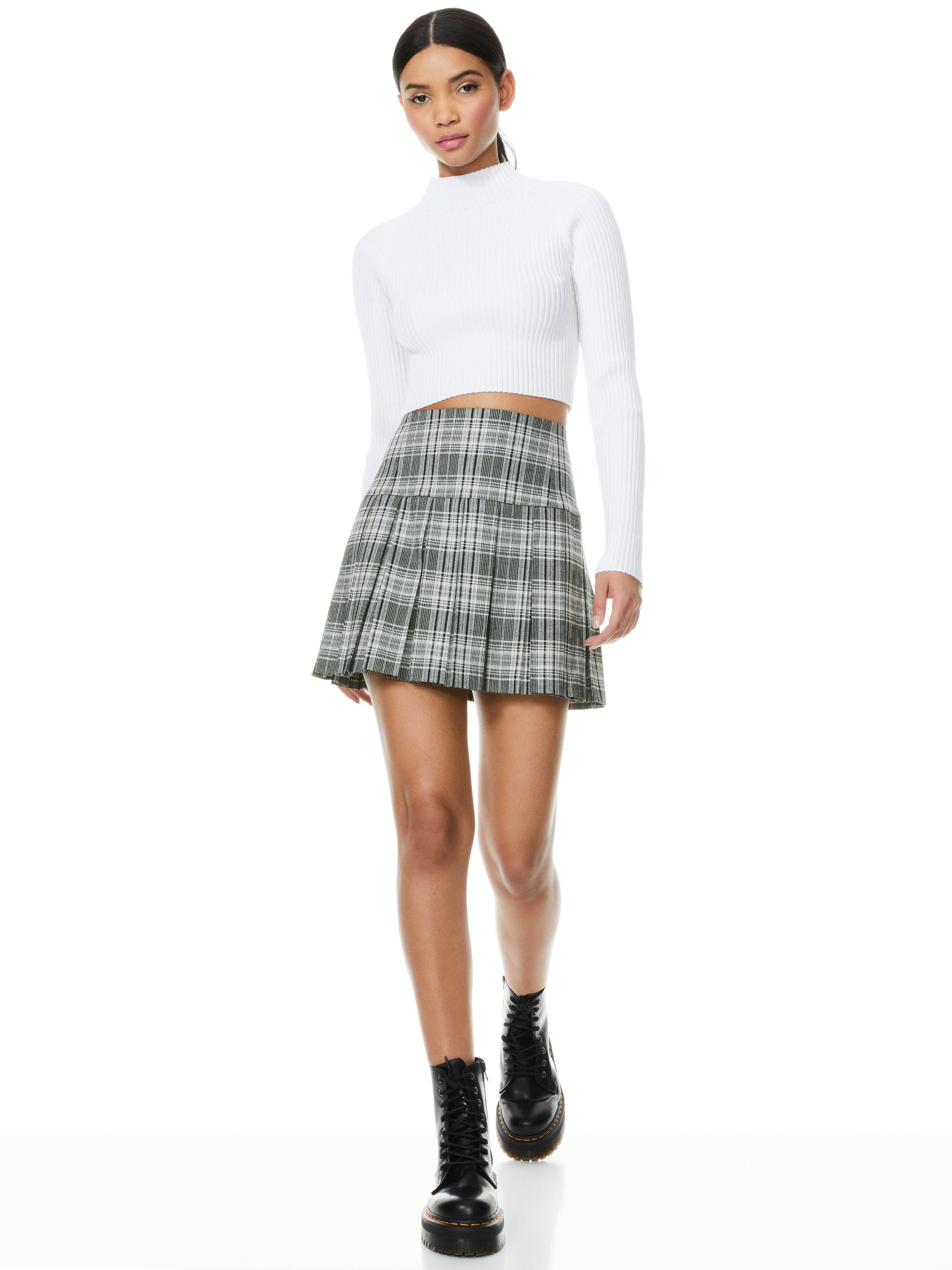 IRENA MOCK NECK CROPPED PULLOVER 7