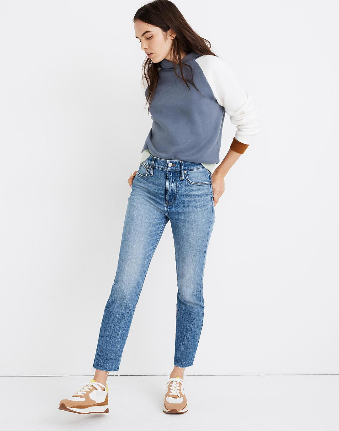 The Petite Perfect Vintage Jean in Enmore Wash: Raw-Hem Edition