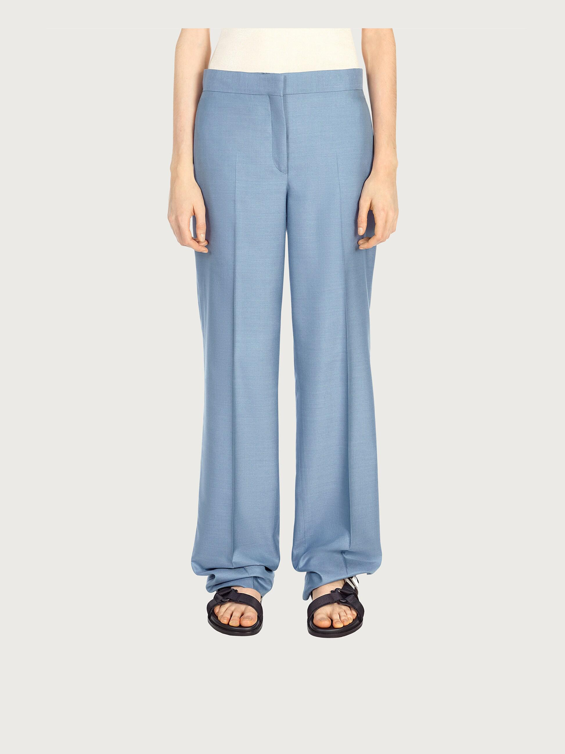 TAILORED SILK TROUSERS