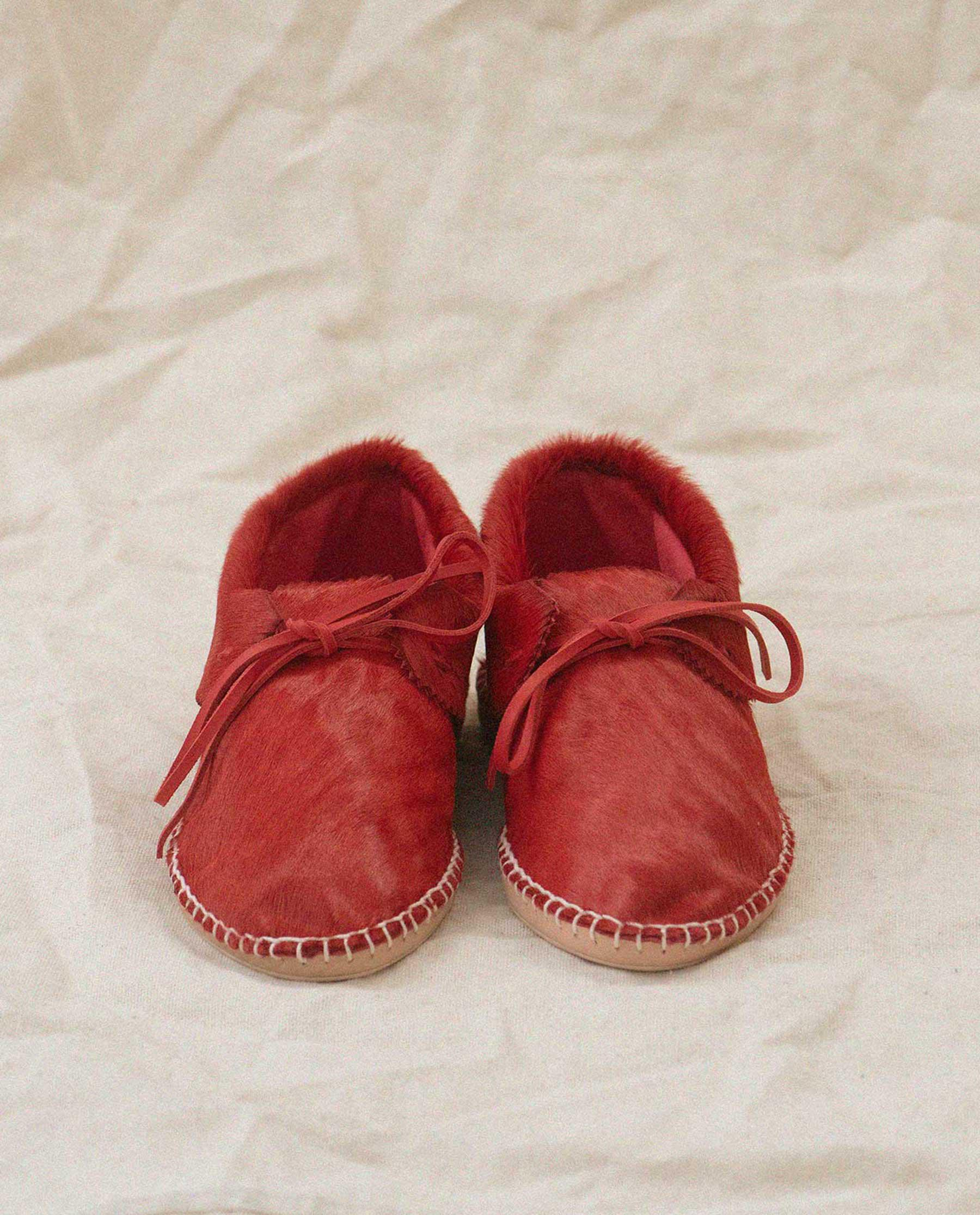 Exclusive The Canyon Moccasin. -- Red 1