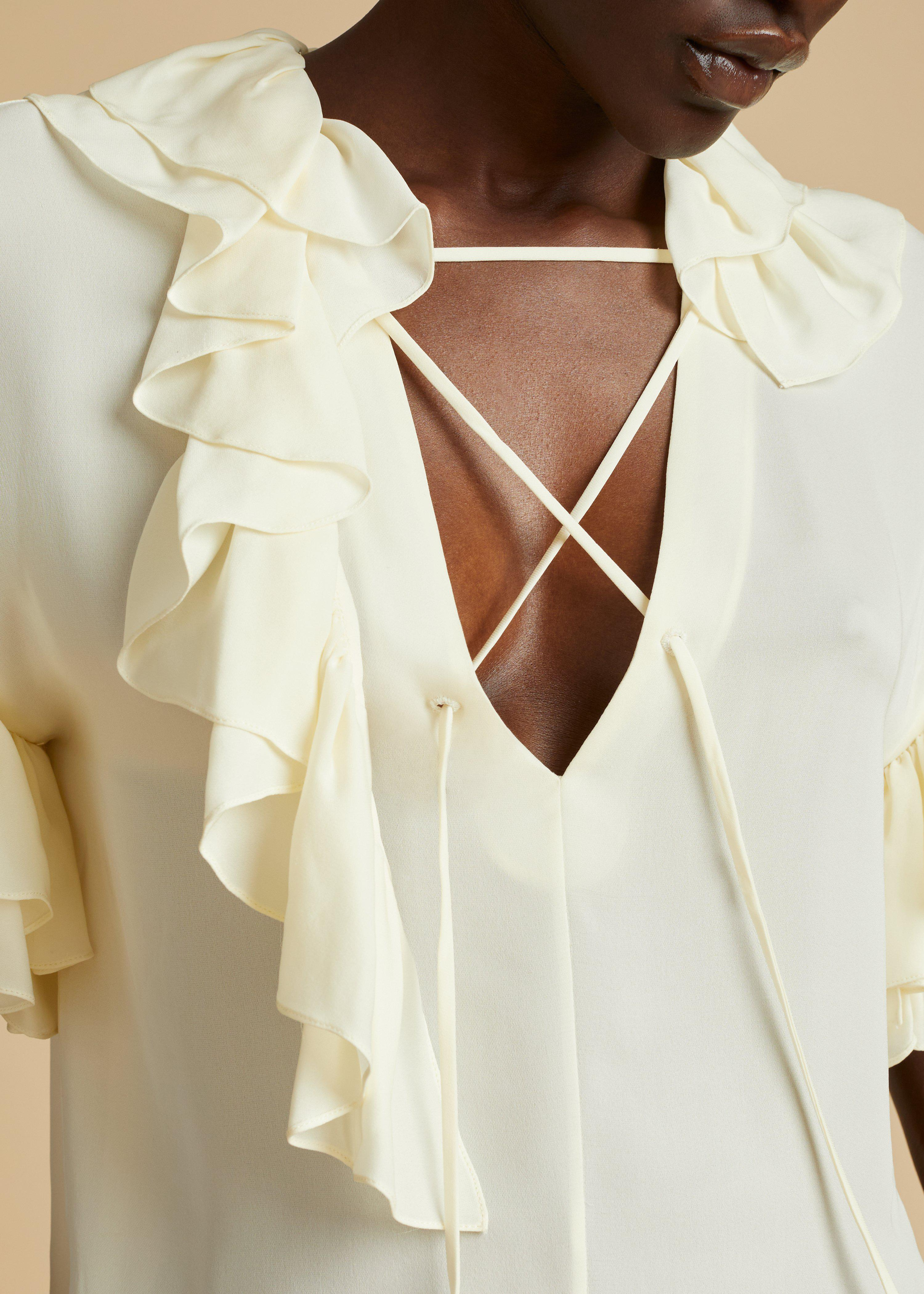 The Dee Top in Ivory 6