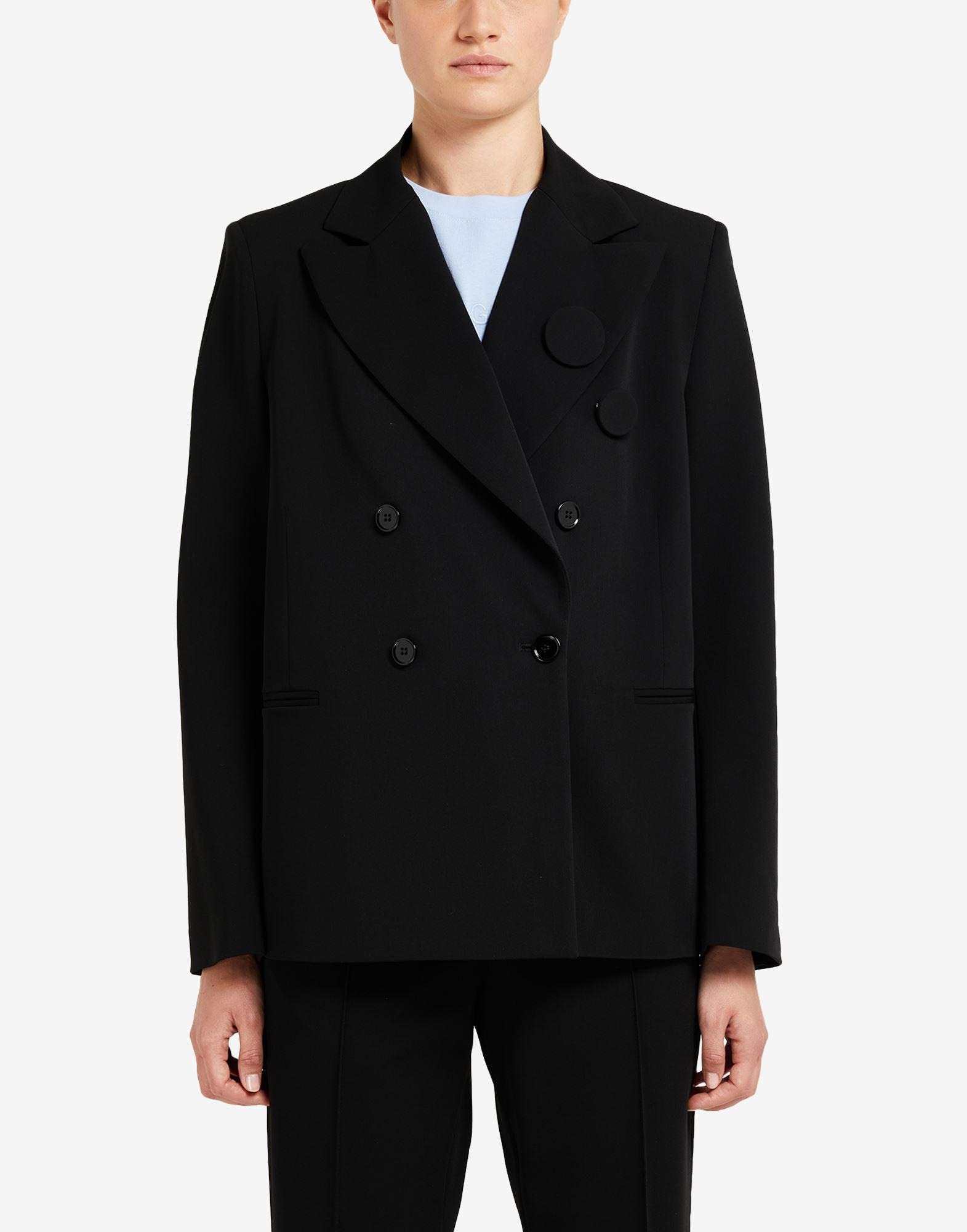 Badge double-breasted blazer 3