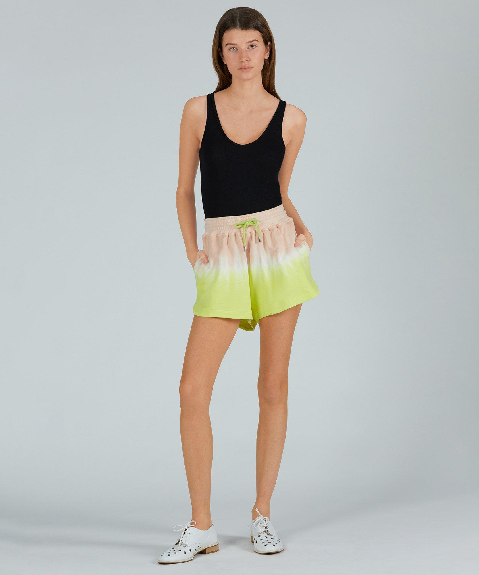 French Terry Pull-On Short - Shell Combo Dip Dye 3