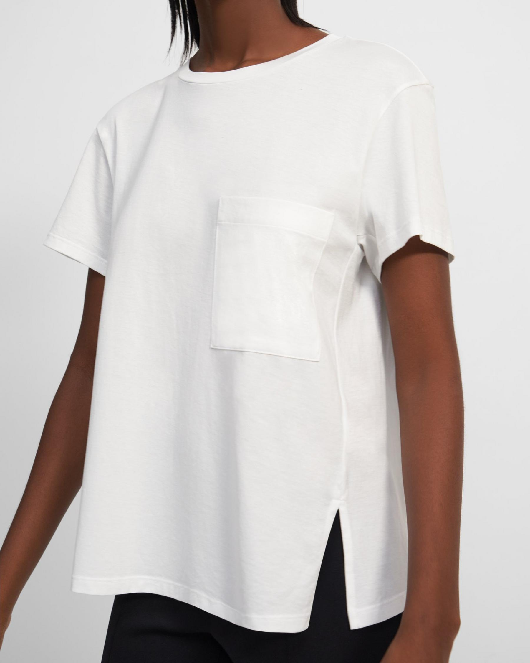 A-Line Tee in Cotton 1