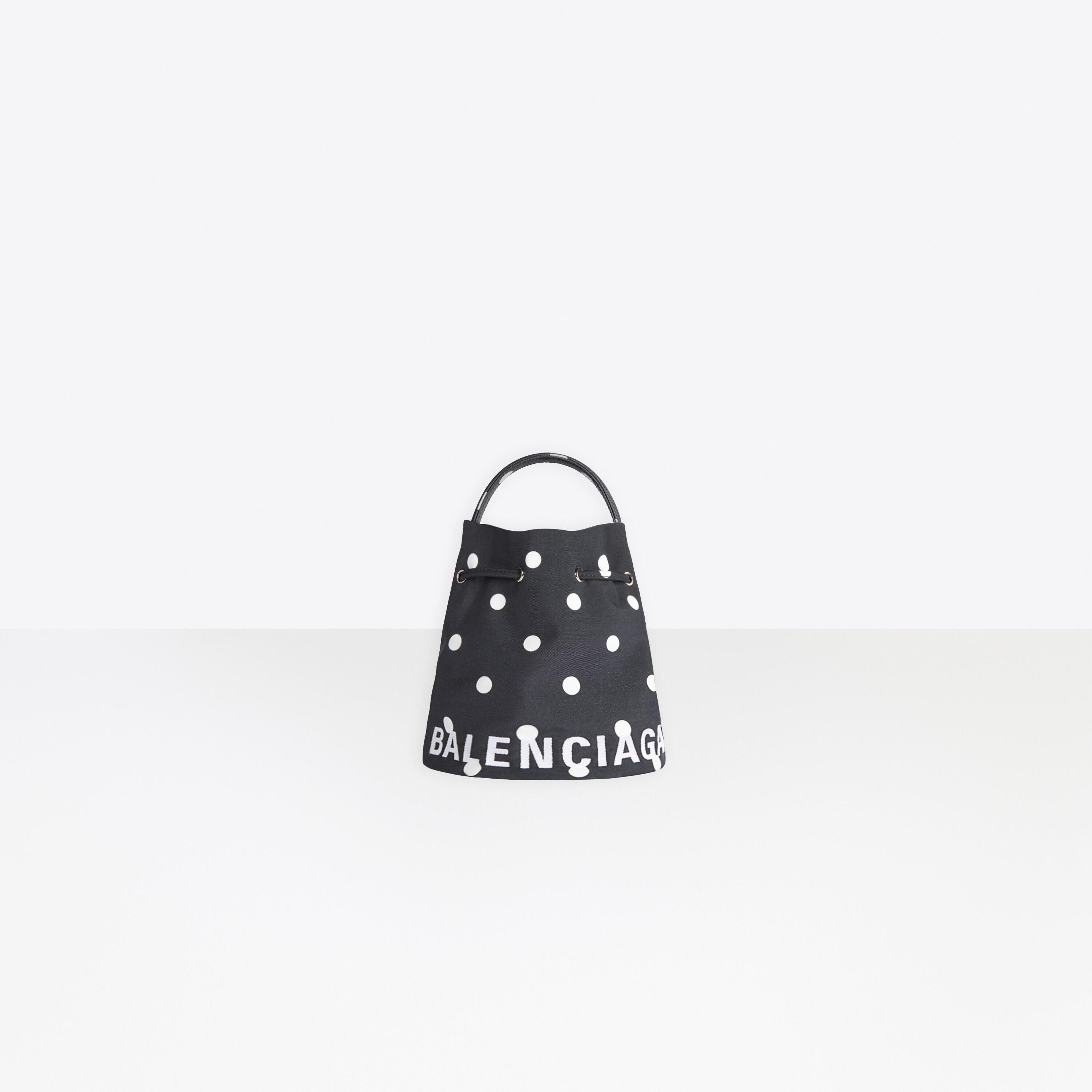 Wheel XS Drawstring Bucket Bag