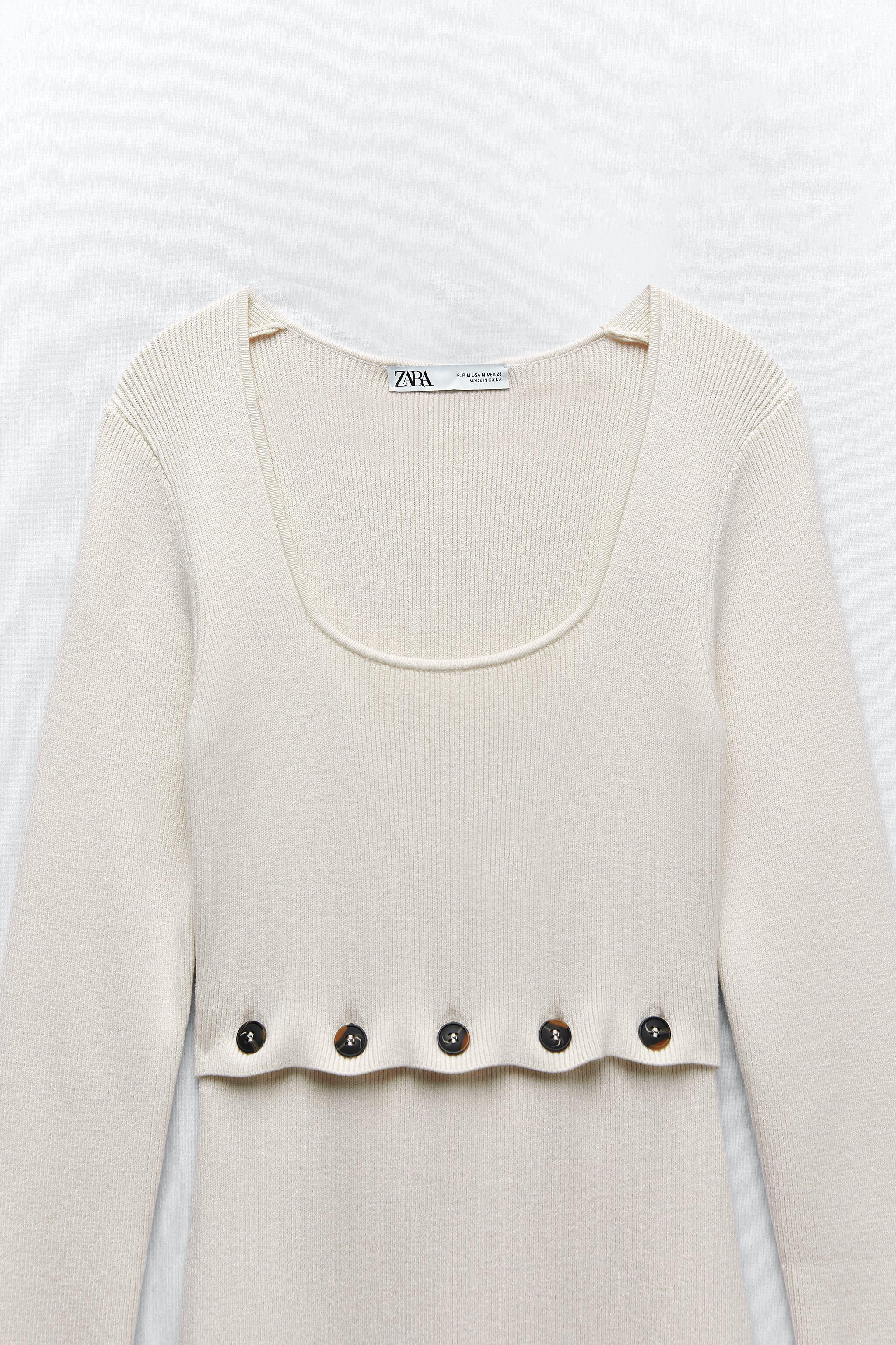 KNIT DRESS WITH BUTTONS 6